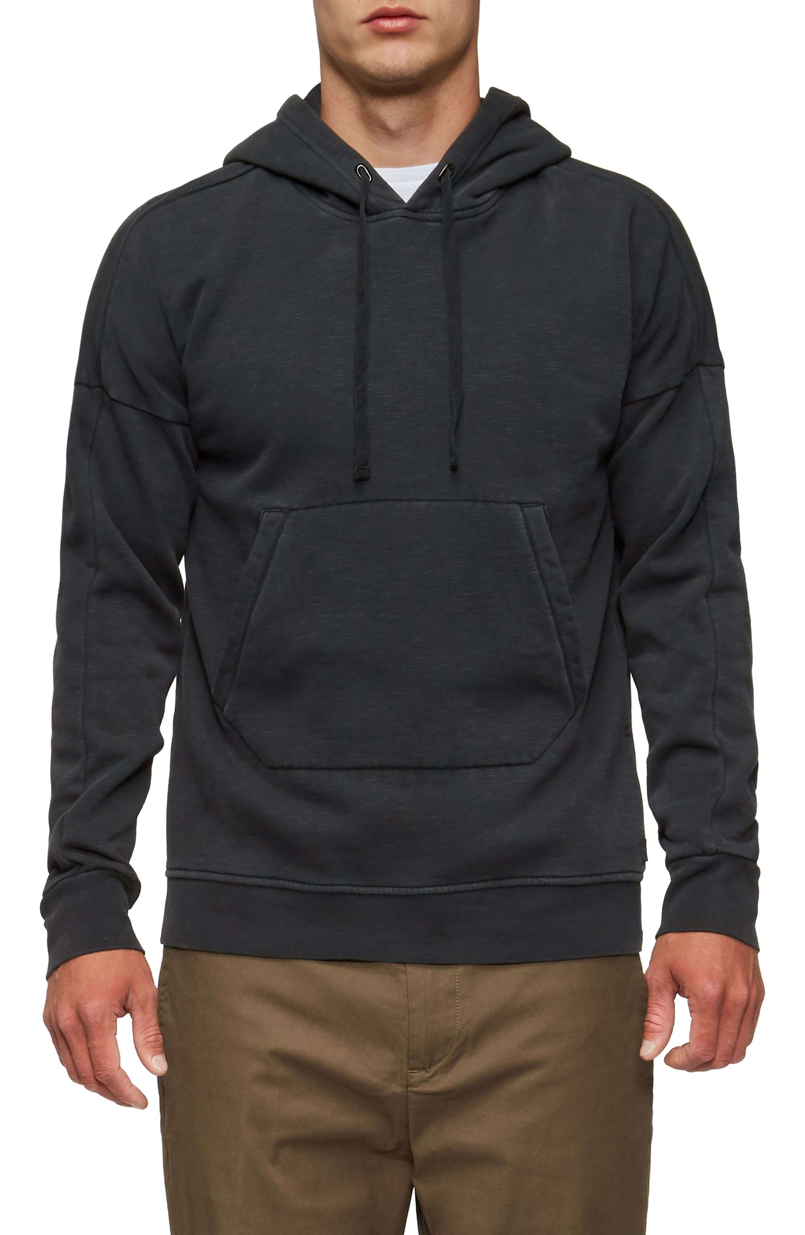 Turf Hooded Sweatshirt,                             Main thumbnail 1, color,                             Black