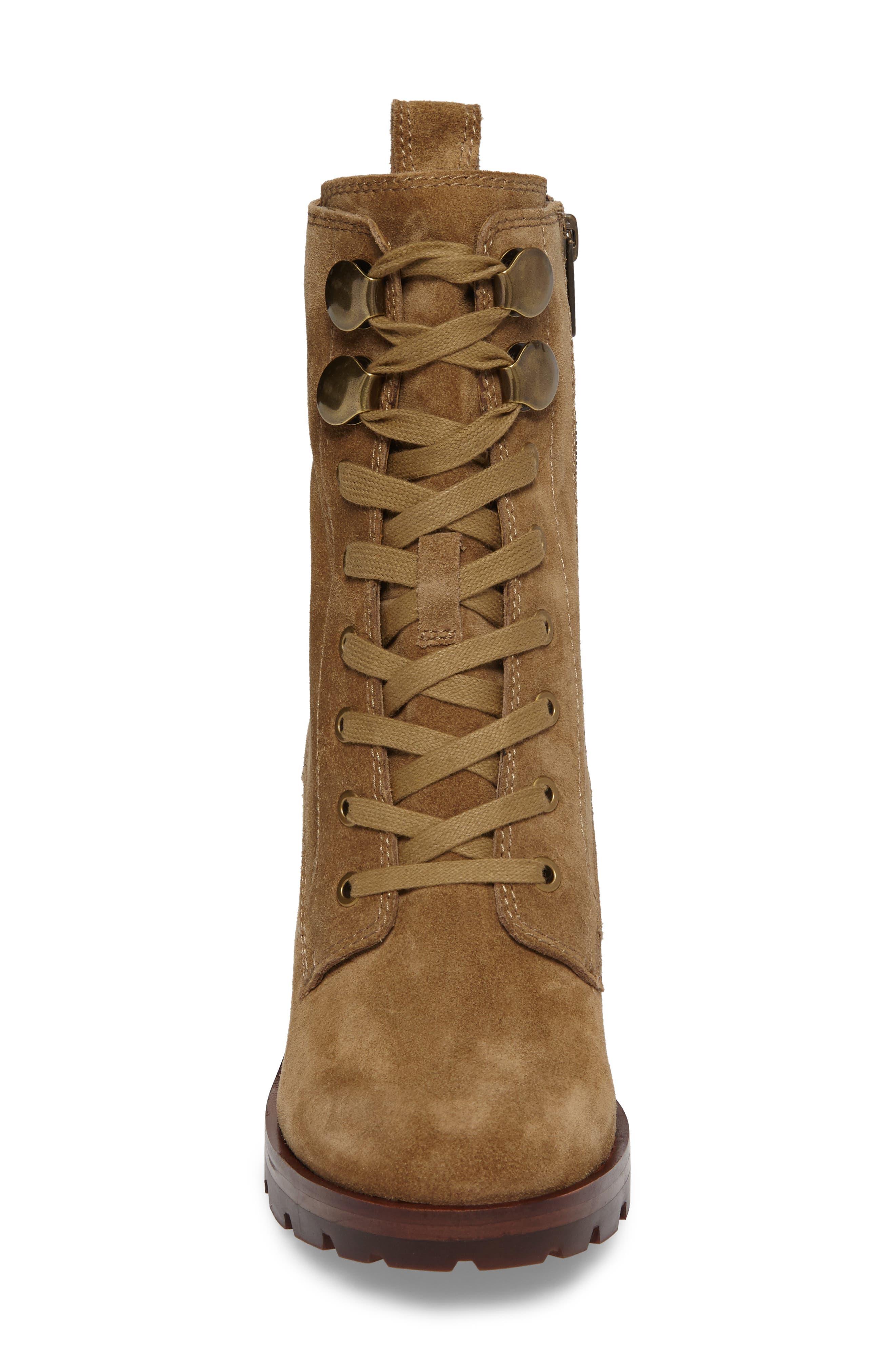 Alternate Image 4  - Frye Myra Lug Combat Boot (Women)