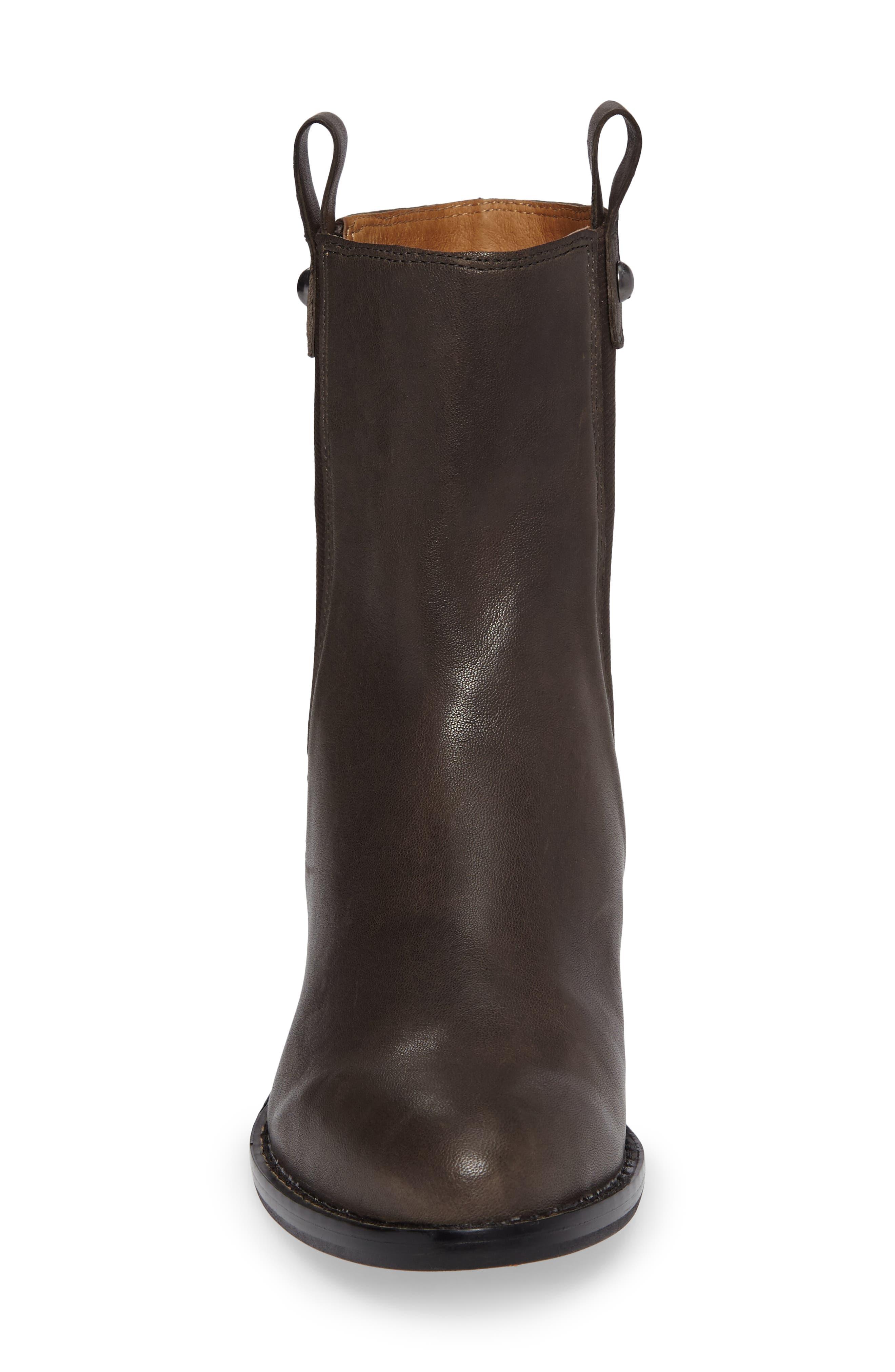CC Corso Como Armando Boot,                             Alternate thumbnail 4, color,                             Dark Grey Leather