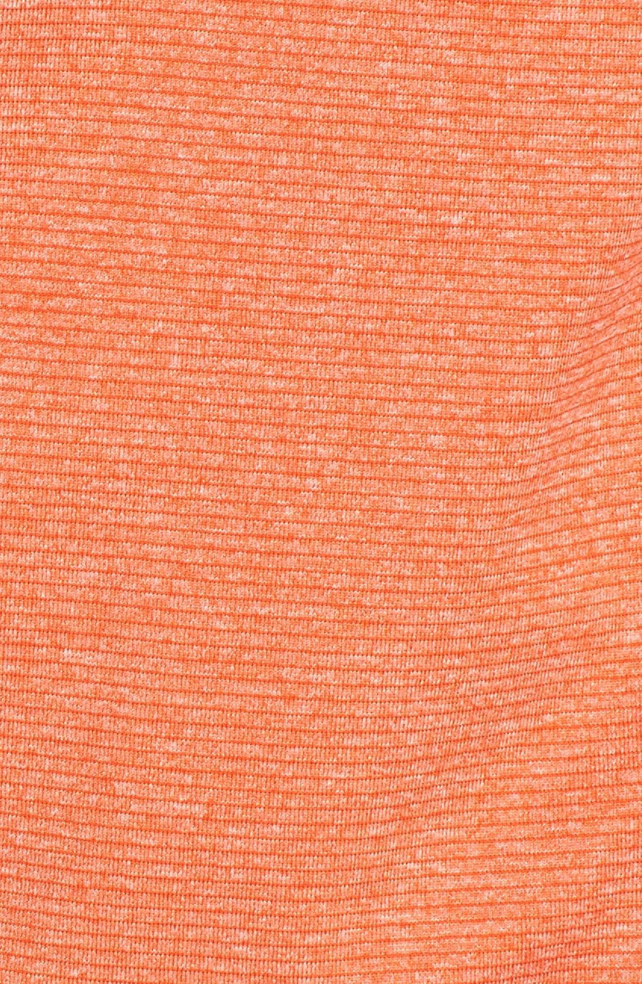 Shoreline - Cleveland Browns Half Zip Pullover,                             Alternate thumbnail 4, color,                             College Orange Heather