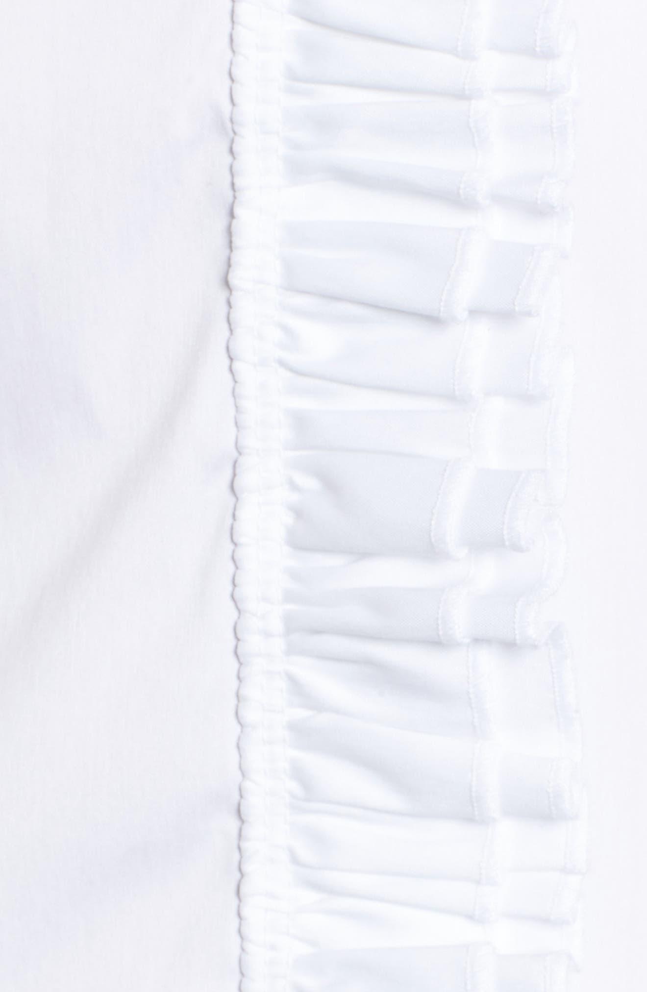 Alternate Image 5  - Halogen® Ruffle Front Blouse (Regular & Petite)
