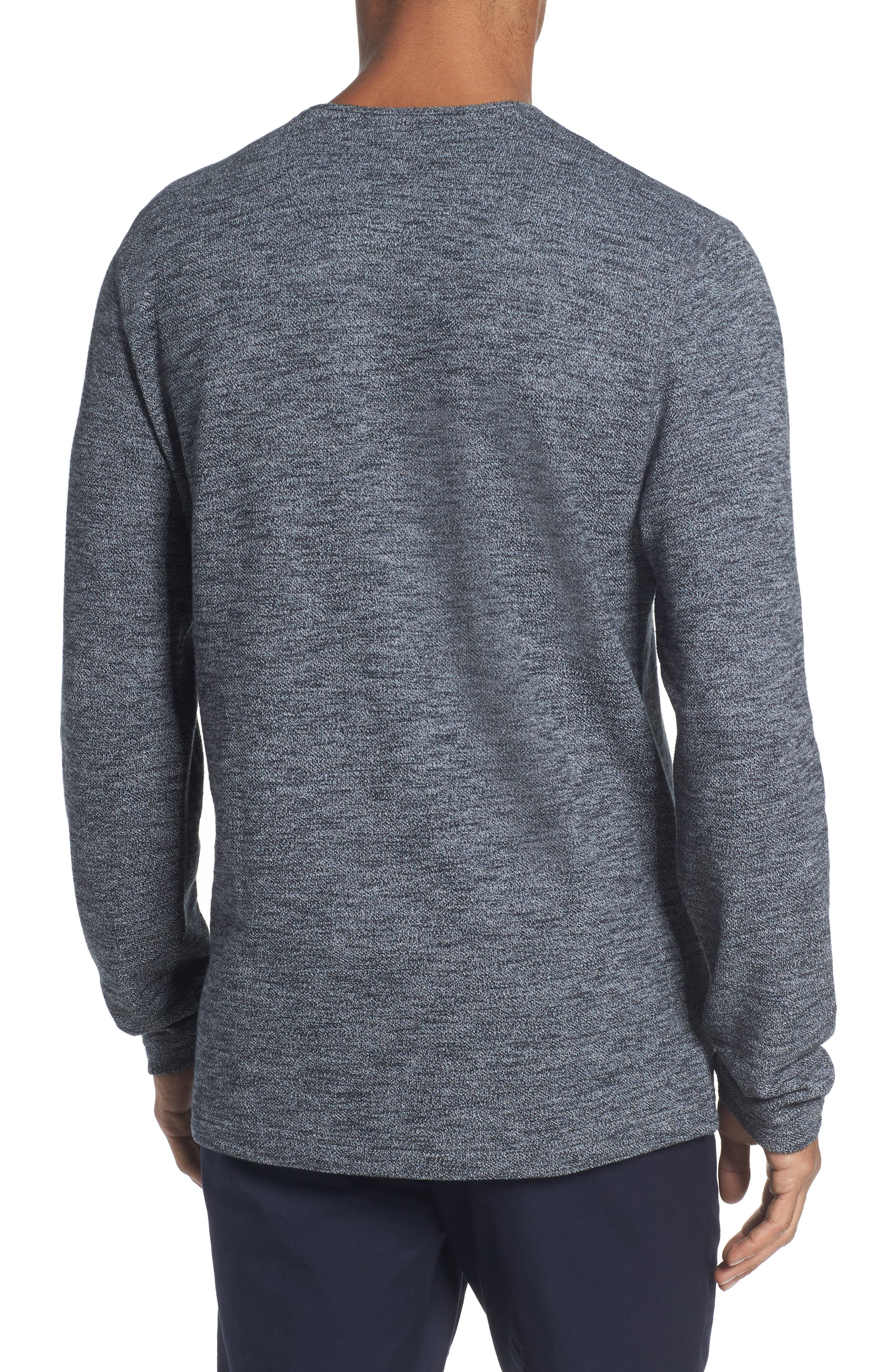 Alternate Image 3  - Nordstrom Men's Shop Hacci Knit Henley (Tall)