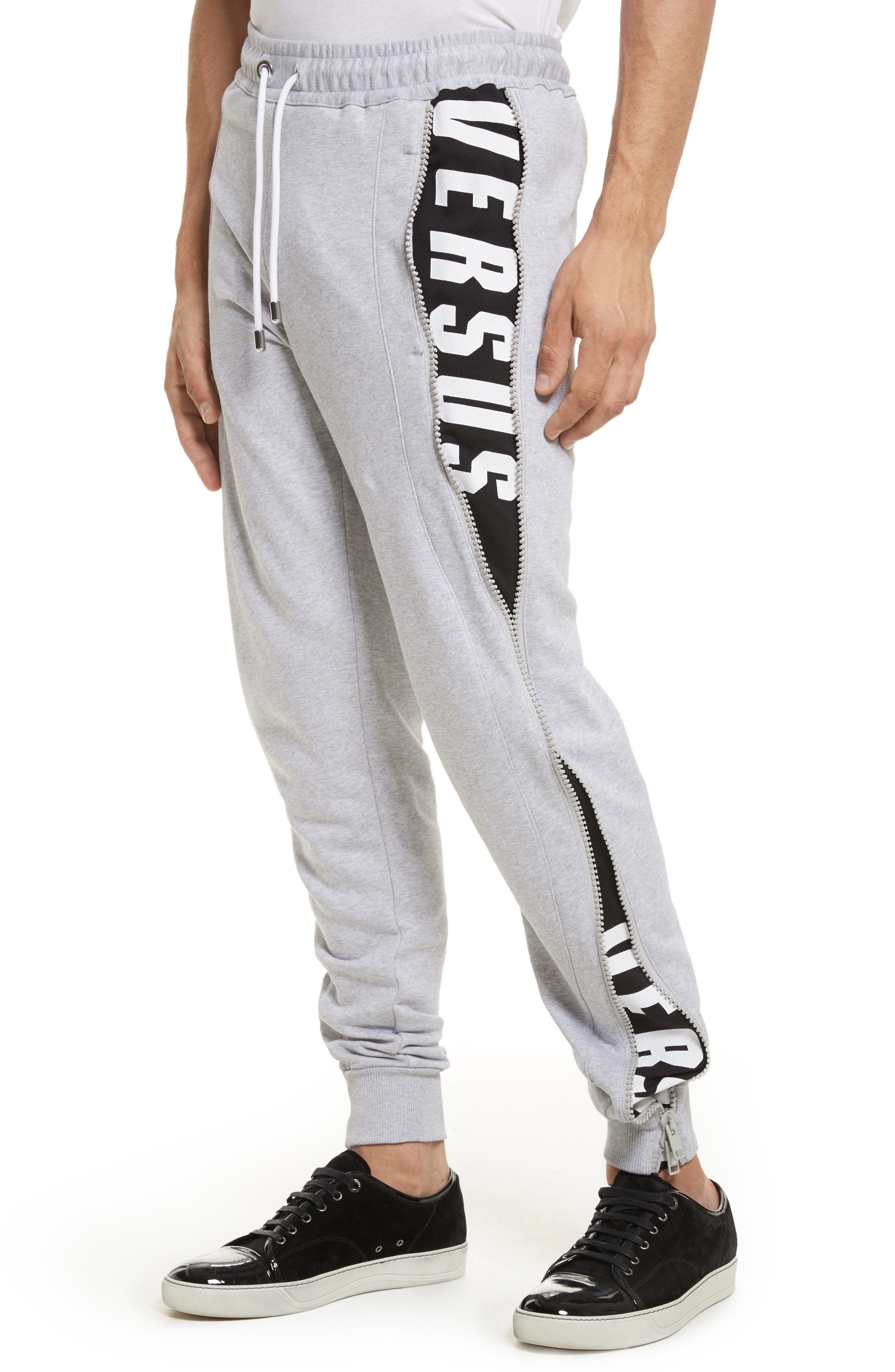 Alternate Image 4  - VERSUS by Versace Side Zip Sweatpants