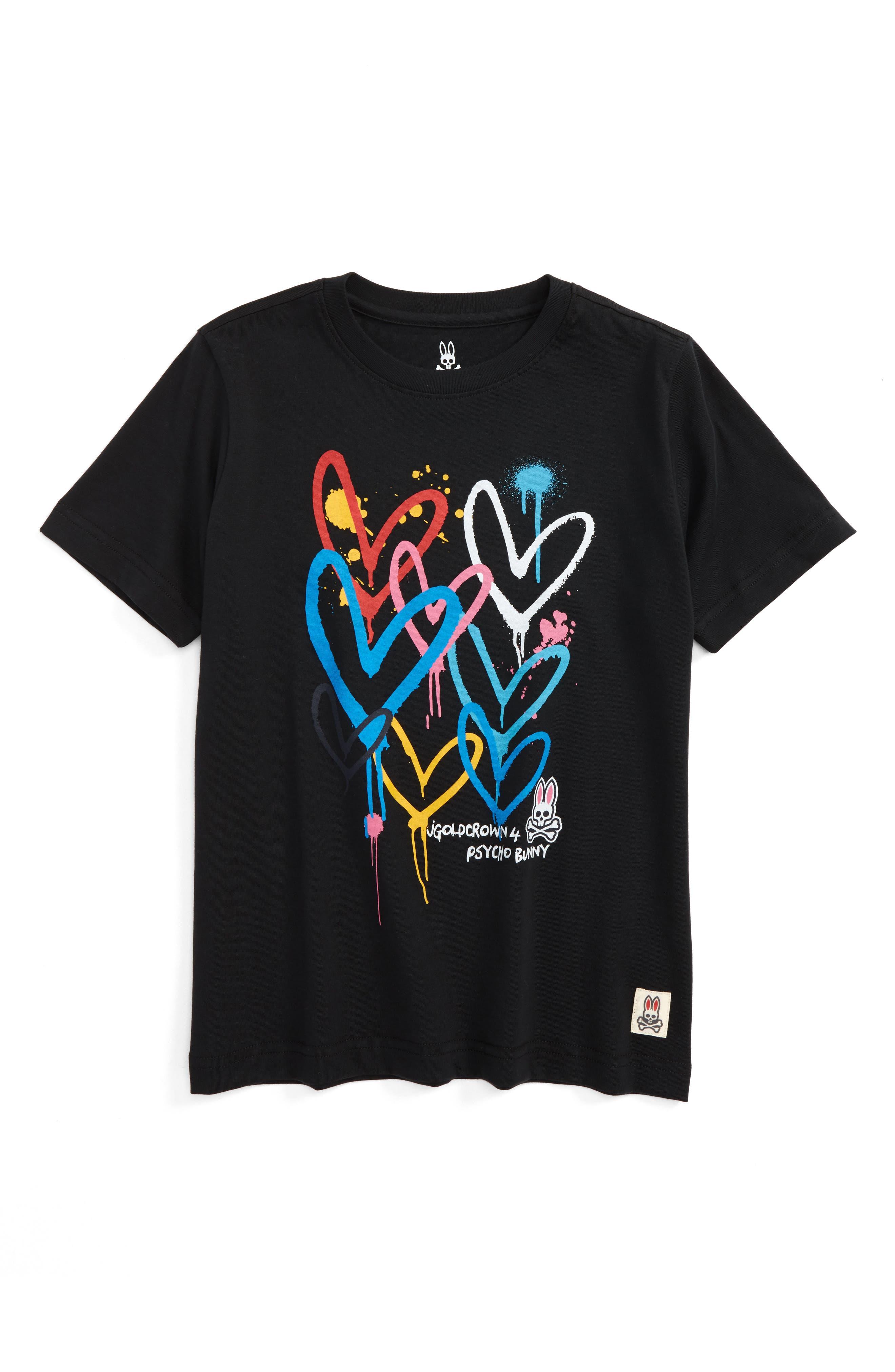 Goldcrown Graphic T-Shirt,                         Main,                         color, Black
