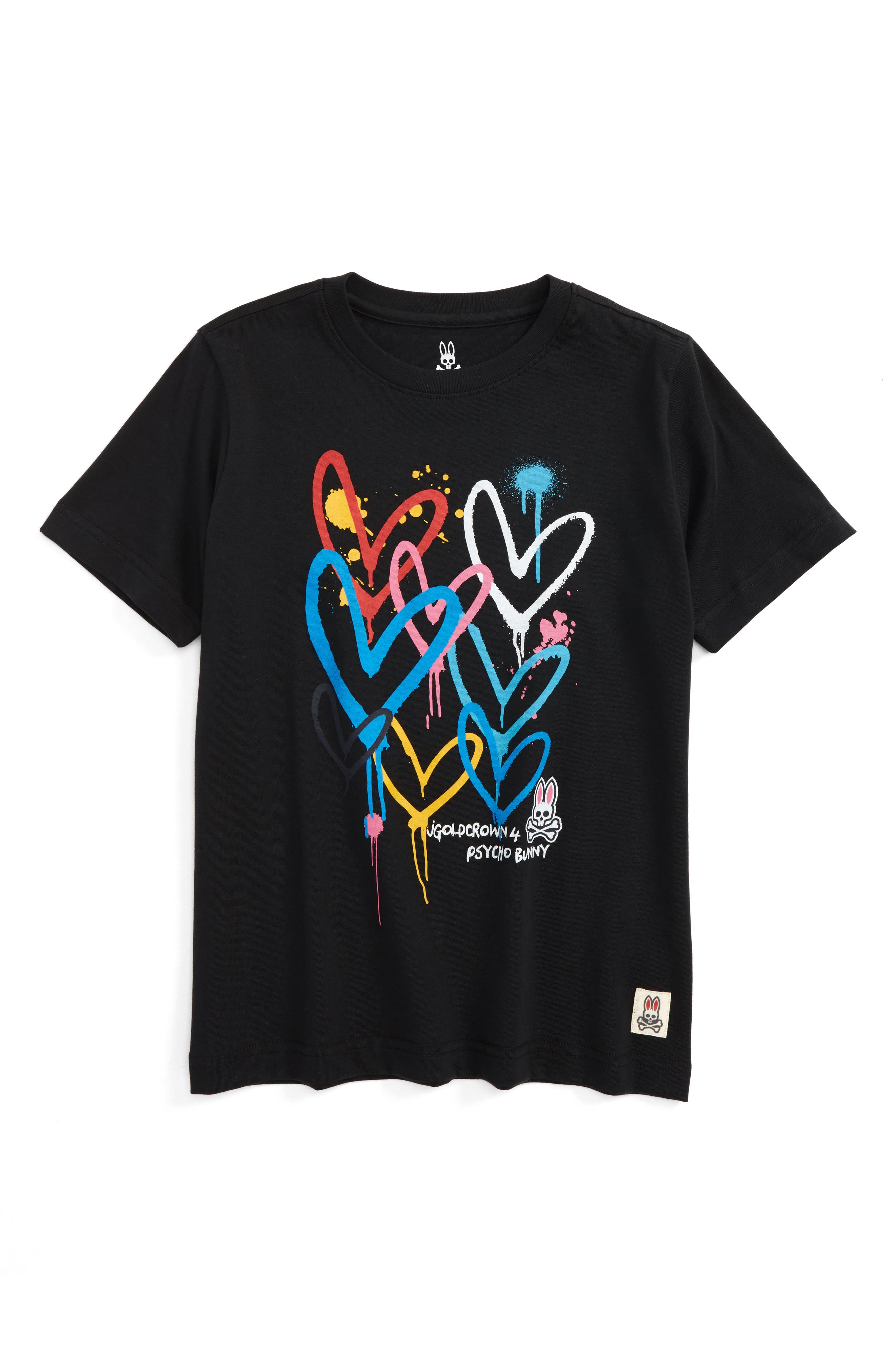 Psycho Bunny Goldcrown Graphic T-Shirt (Little Boys & Big Boys)