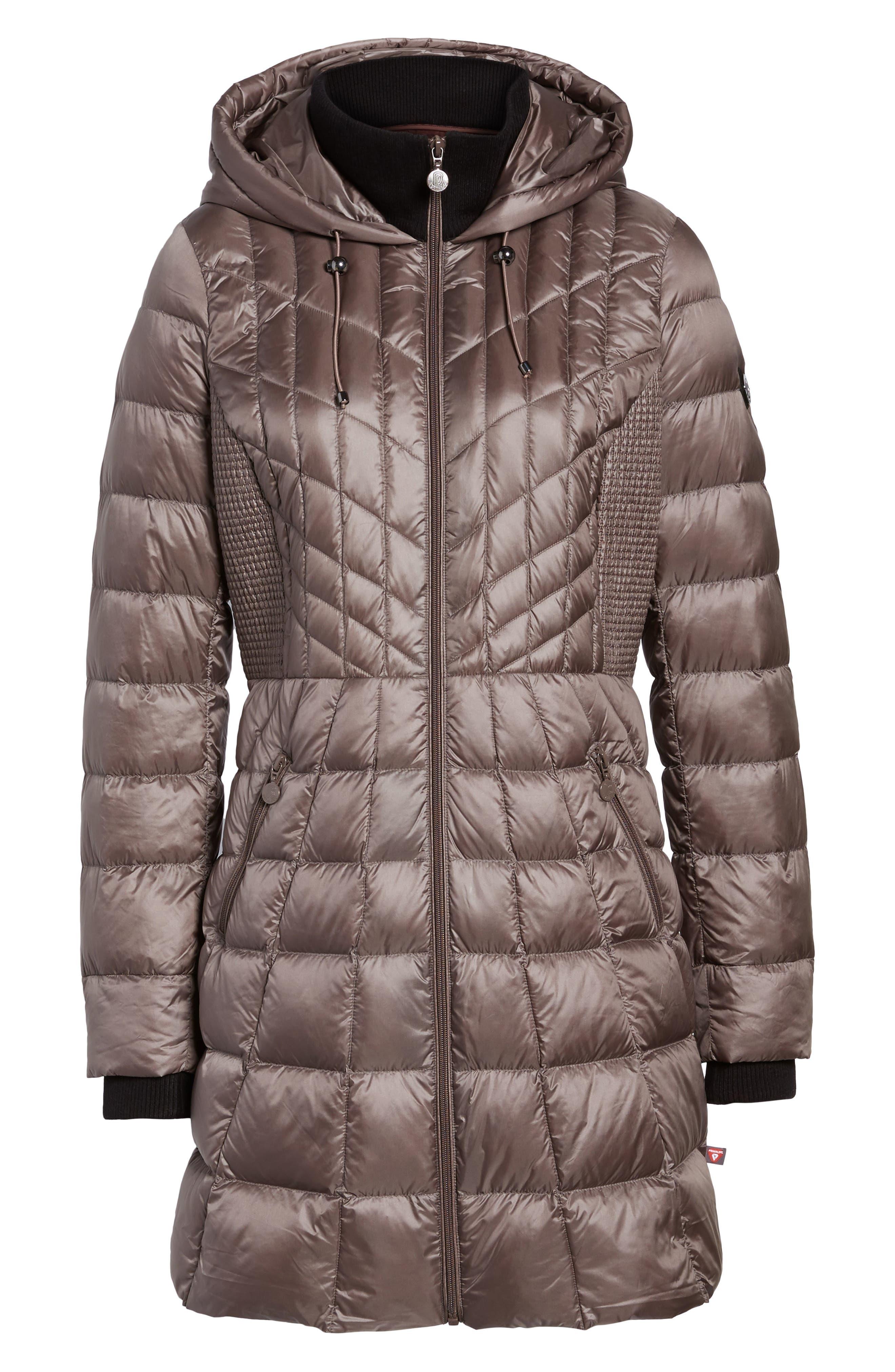 Alternate Image 6  - Bernardo Down & PrimaLoft® Coat (Regular & Petite)