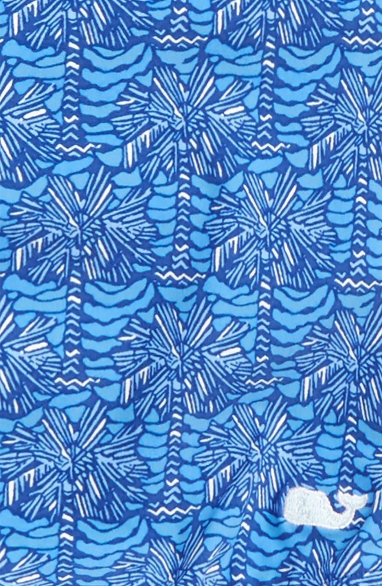 Alternate Image 3  - vineyard vines Palmetto Print One-Piece Swimsuit (Little Girls & Big Girls)