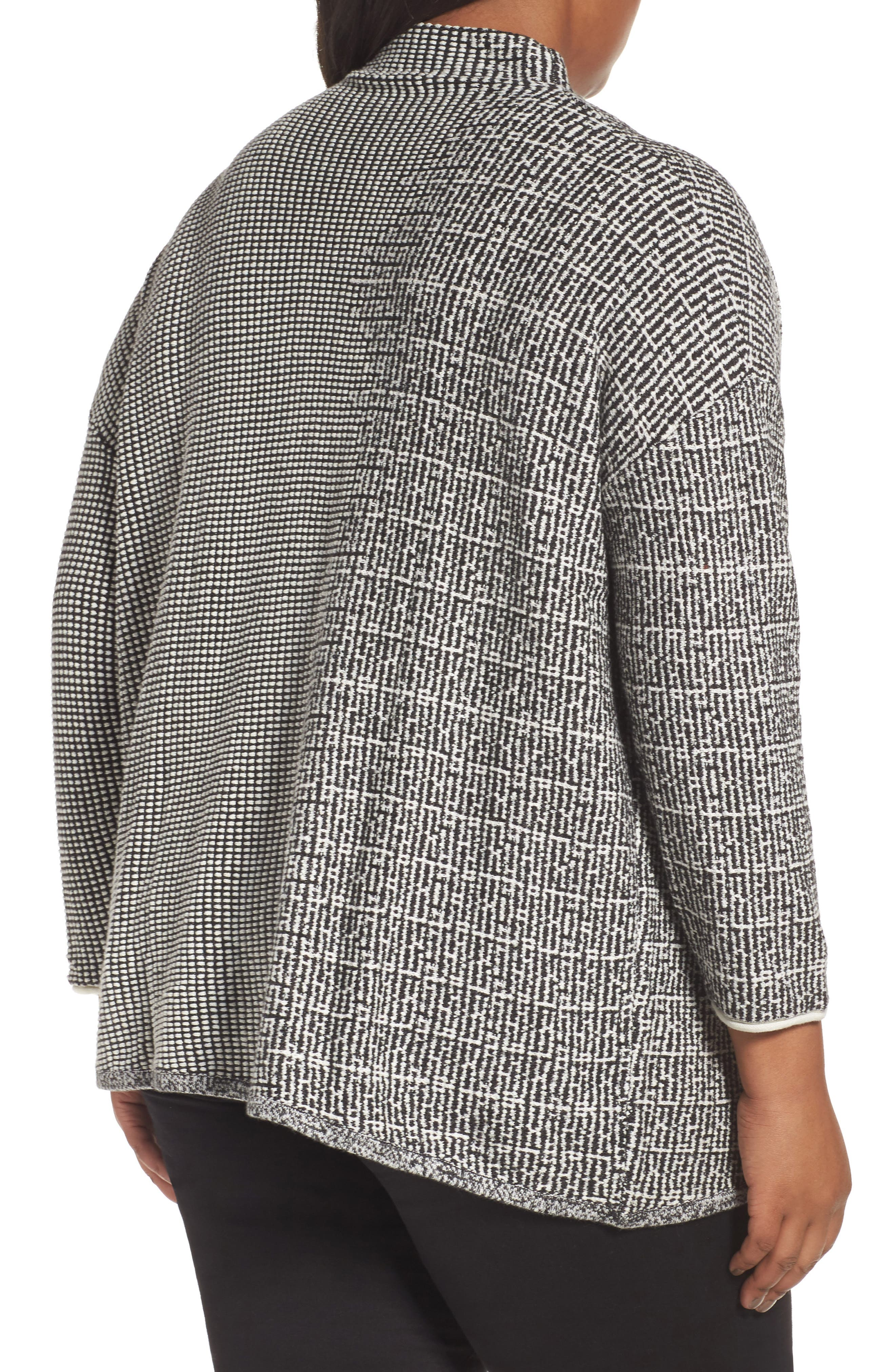 Alternate Image 2  - NIC+ZOE Frosted Fall Sweater (Plus Size)