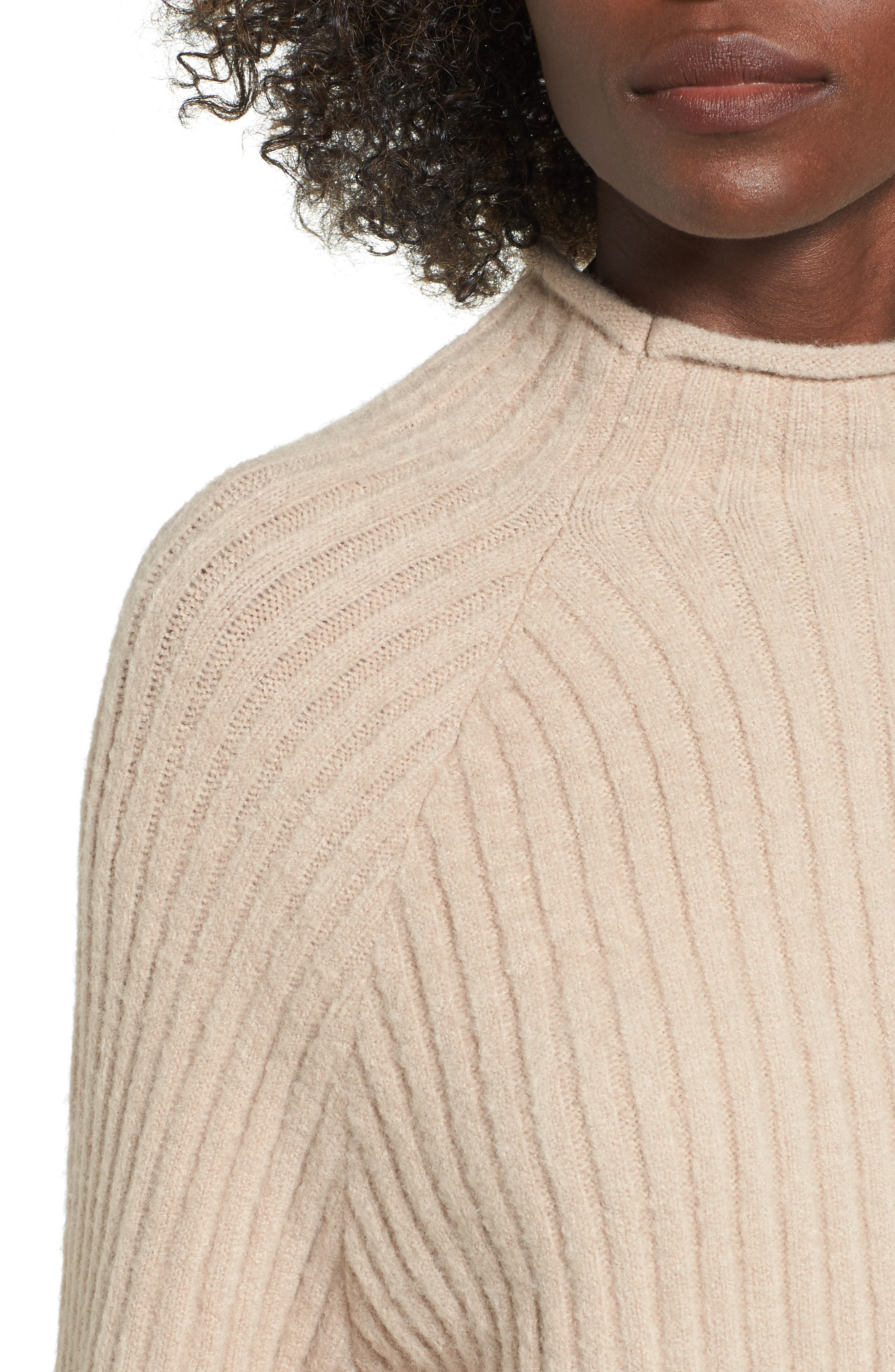 Alternate Image 4  - 4SI3NNA Bell Sleeve Sweater
