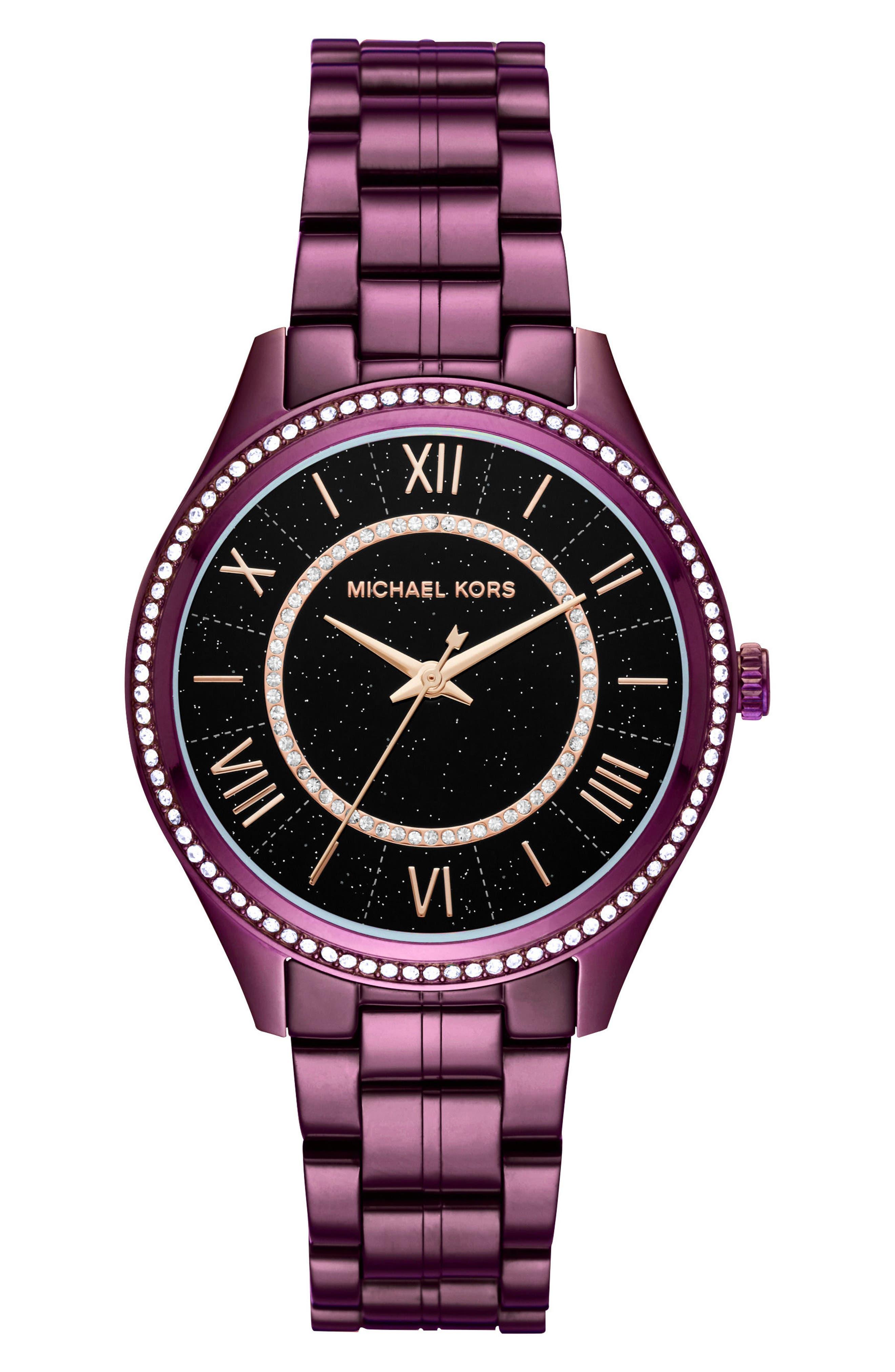 Main Image - Michael Kors Lauryn Celestial Bracelet Watch, 38mm