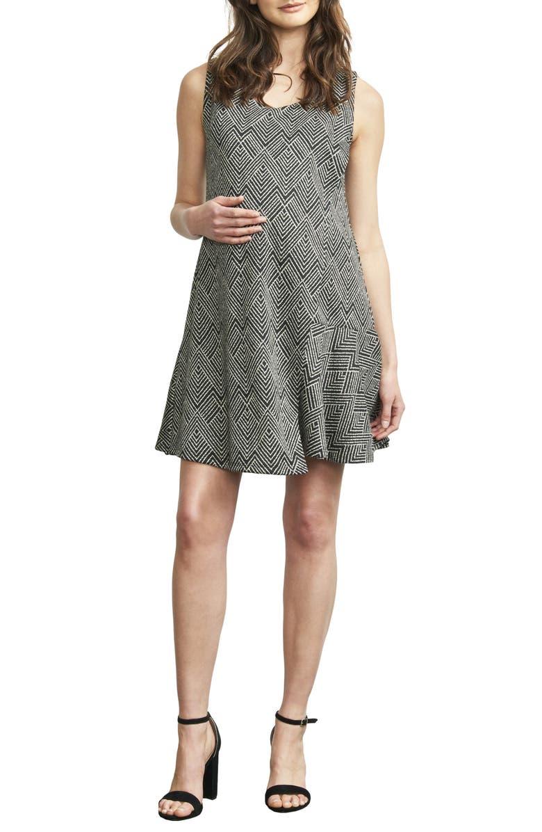 Overlay Wrap Maternity/Nursing Dress