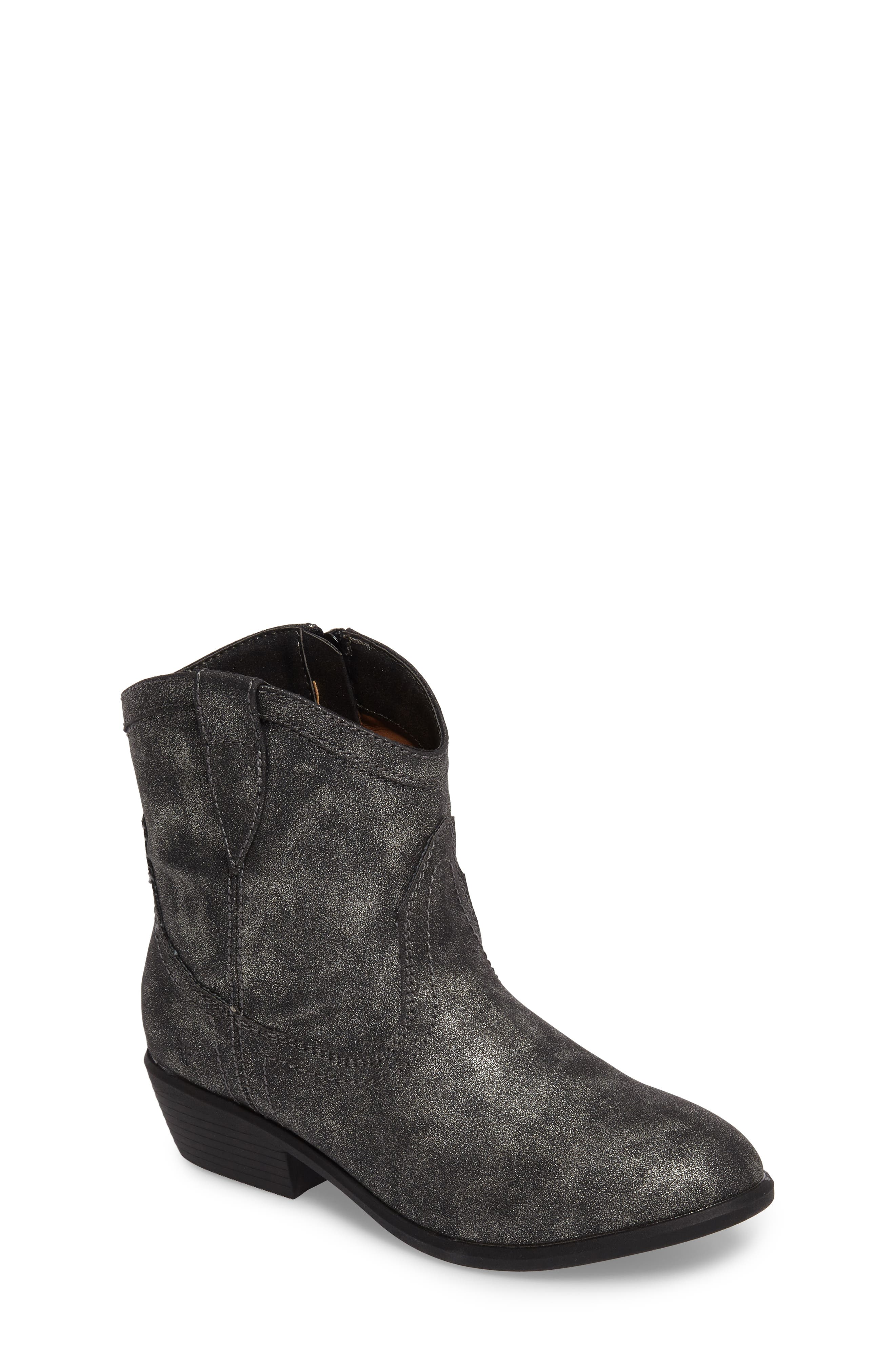 Roper Stitch Boot,                         Main,                         color, Pewter Metallic