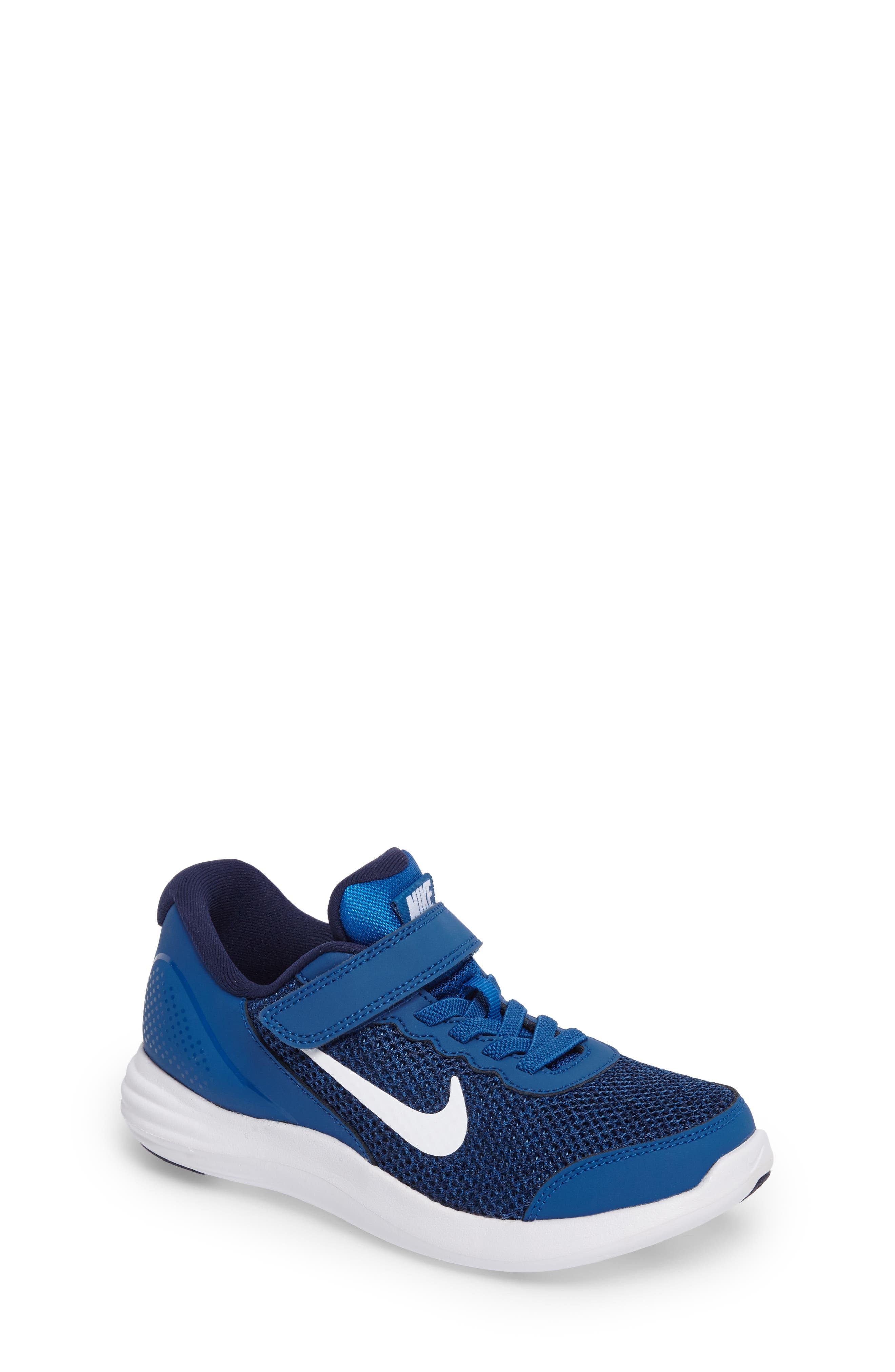 Lunar Apparent Sneaker,                             Main thumbnail 1, color,                             Blue Jay/ White/ Binary Blue