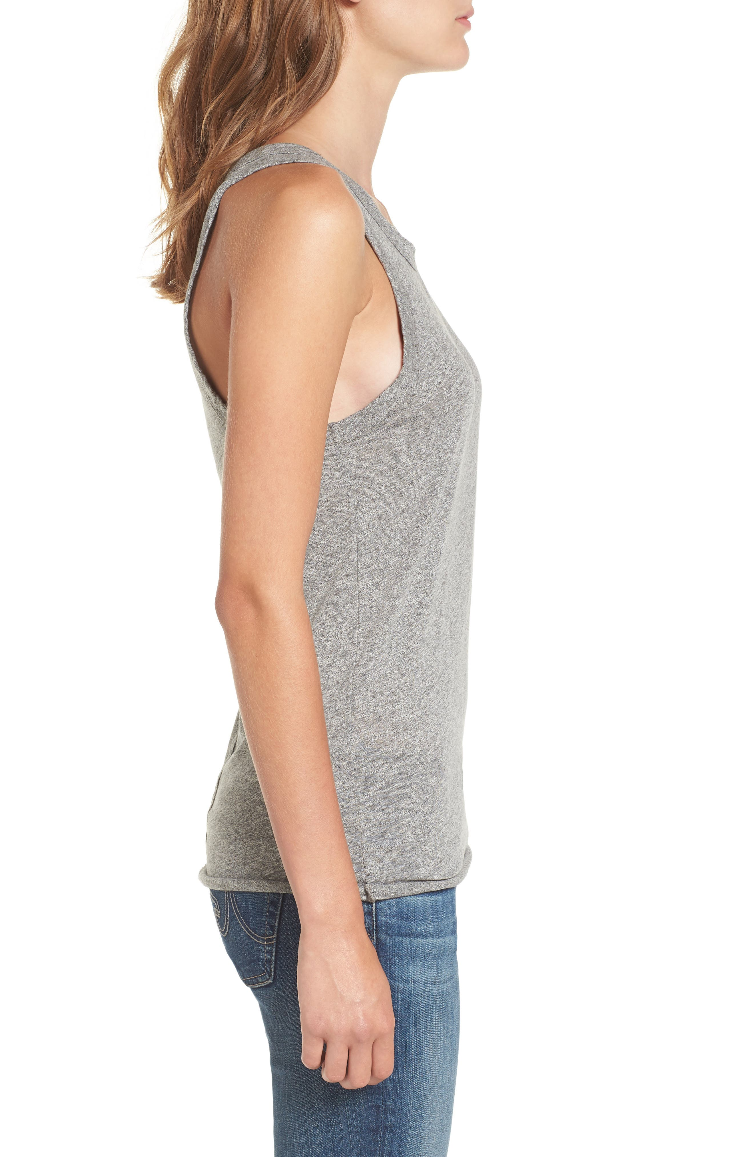 Lexi Tank,                             Alternate thumbnail 3, color,                             Speckled Heather Grey