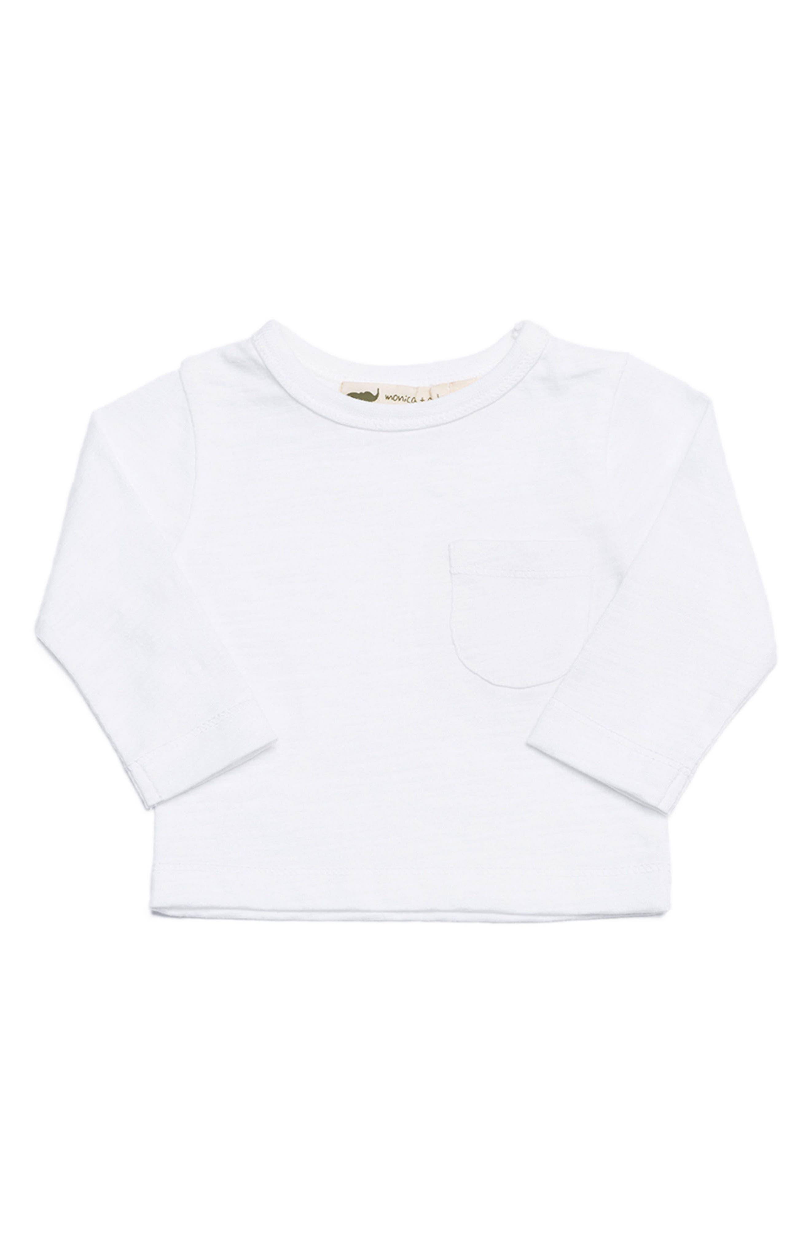Monica + Andy Organic Cotton Pocket T-Shirt (Baby Boys)