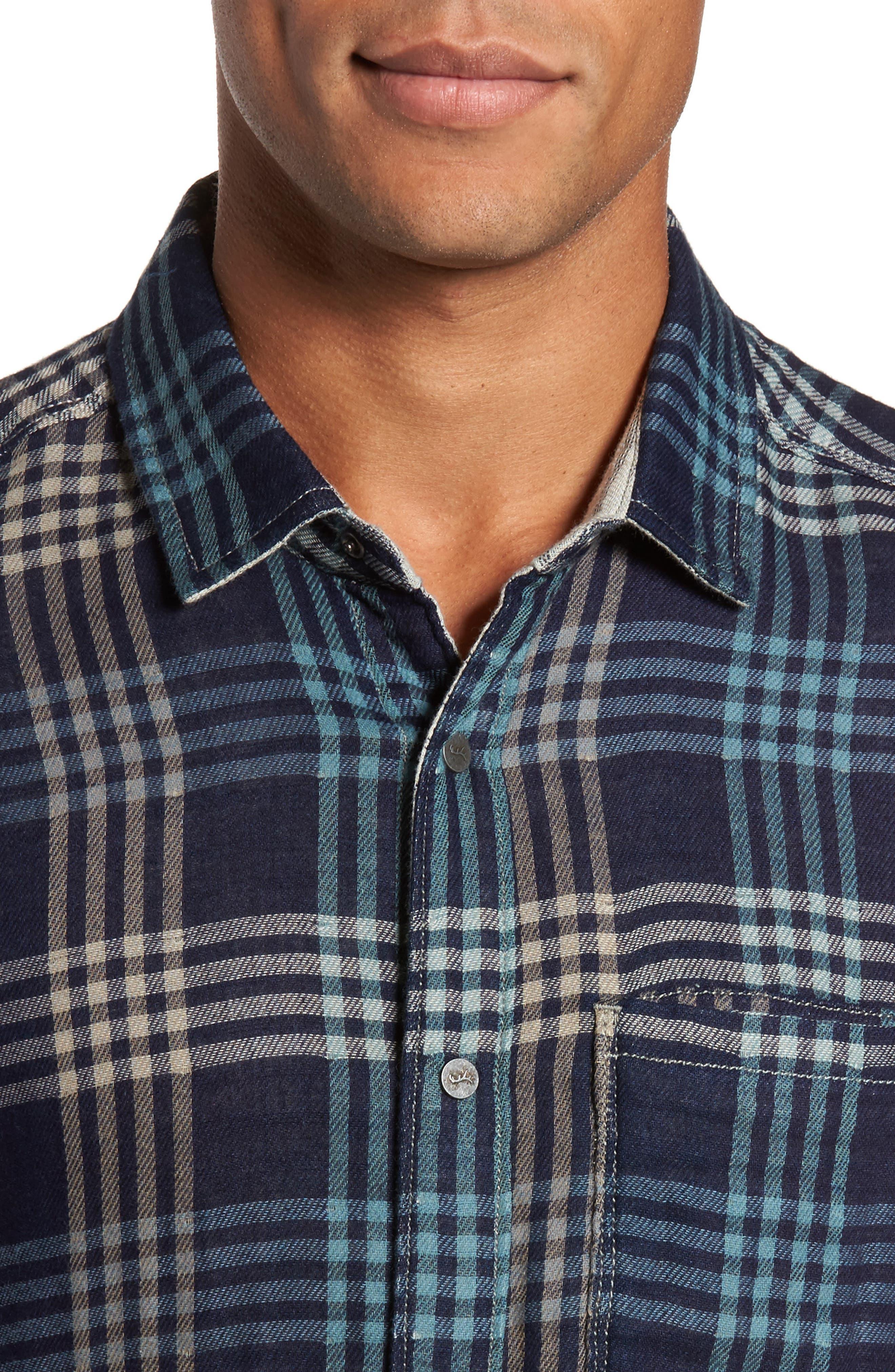 Alternate Image 5  - Jeremiah Cypress Reversible Twill Shirt
