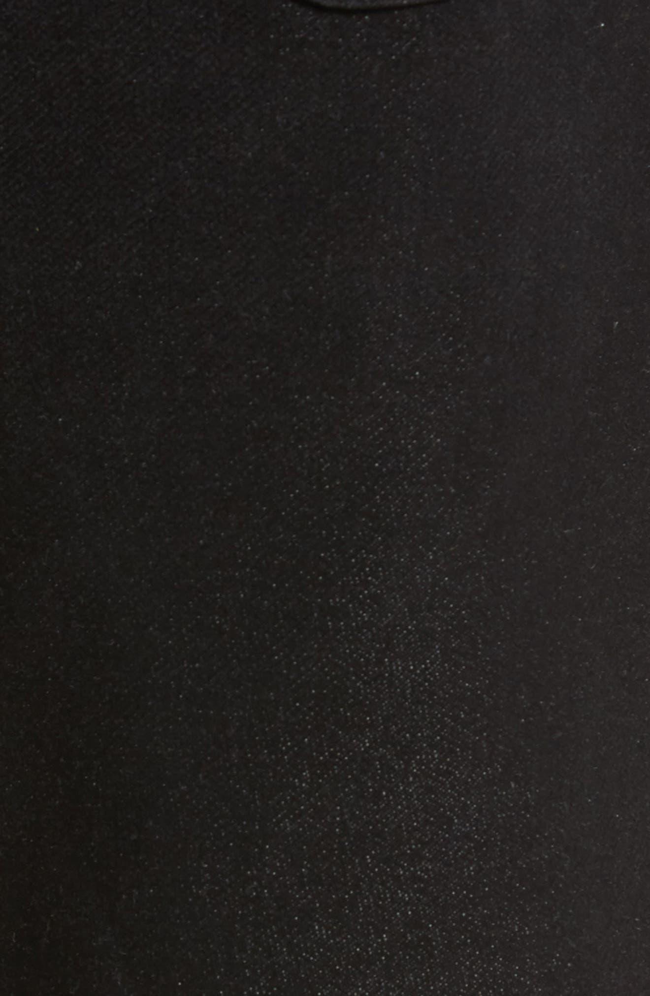 Torino Slim Fit Jeans,                             Alternate thumbnail 5, color,                             Oxy Black On Black