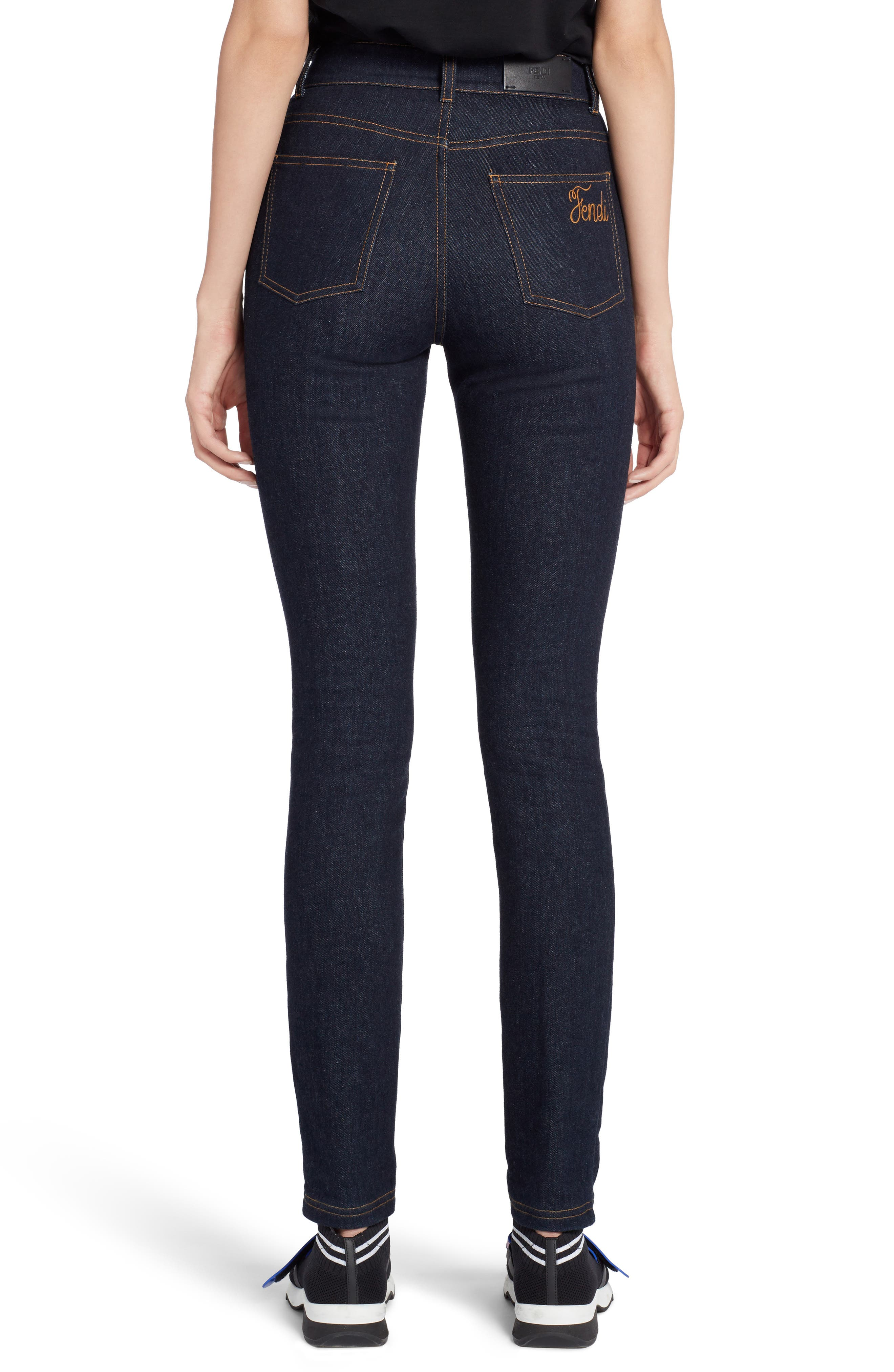 Skinny Jeans,                             Alternate thumbnail 2, color,                             Blue