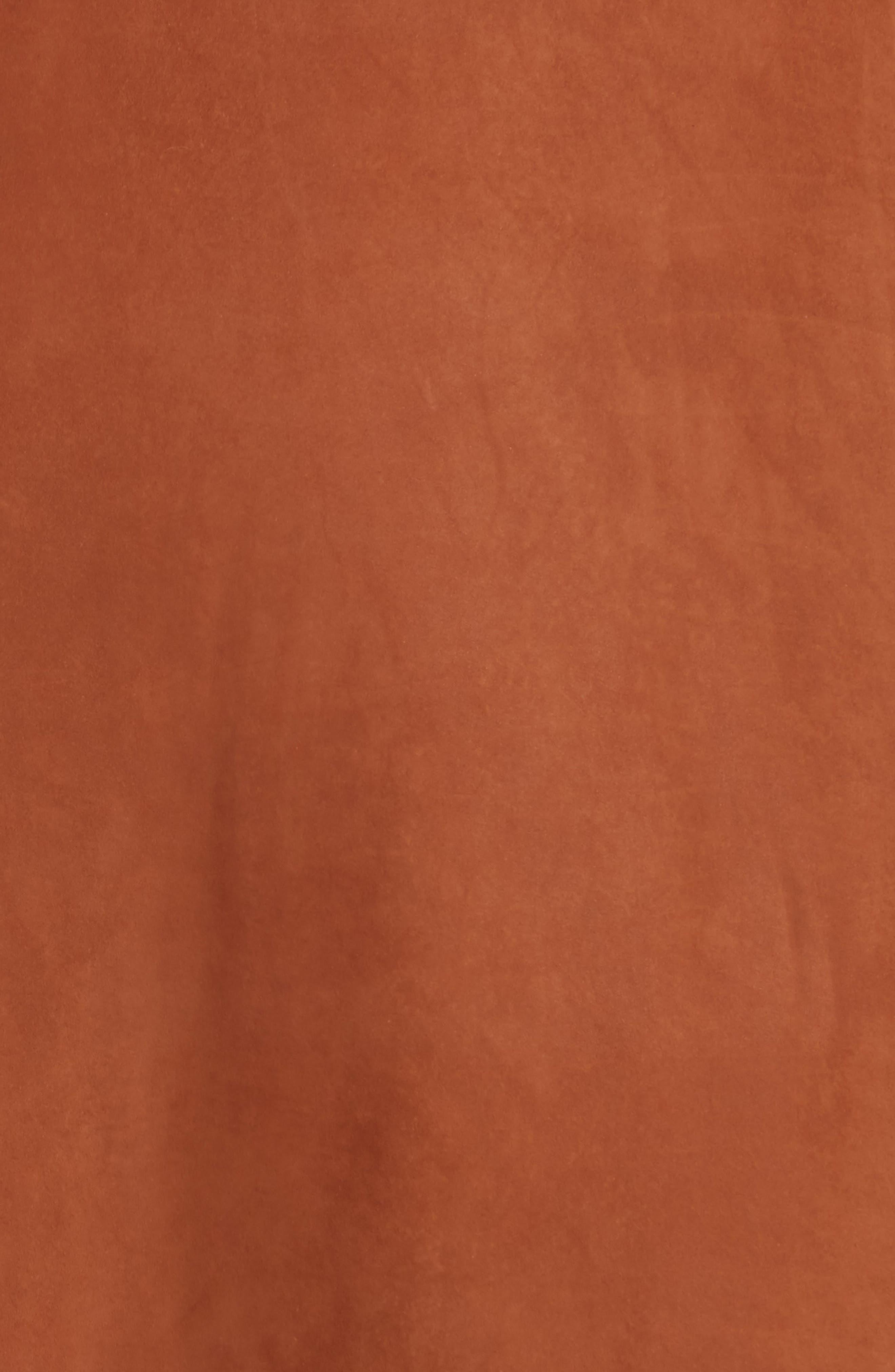 Alternate Image 5  - Lafayette 148 New York Rosella Leather Skirt