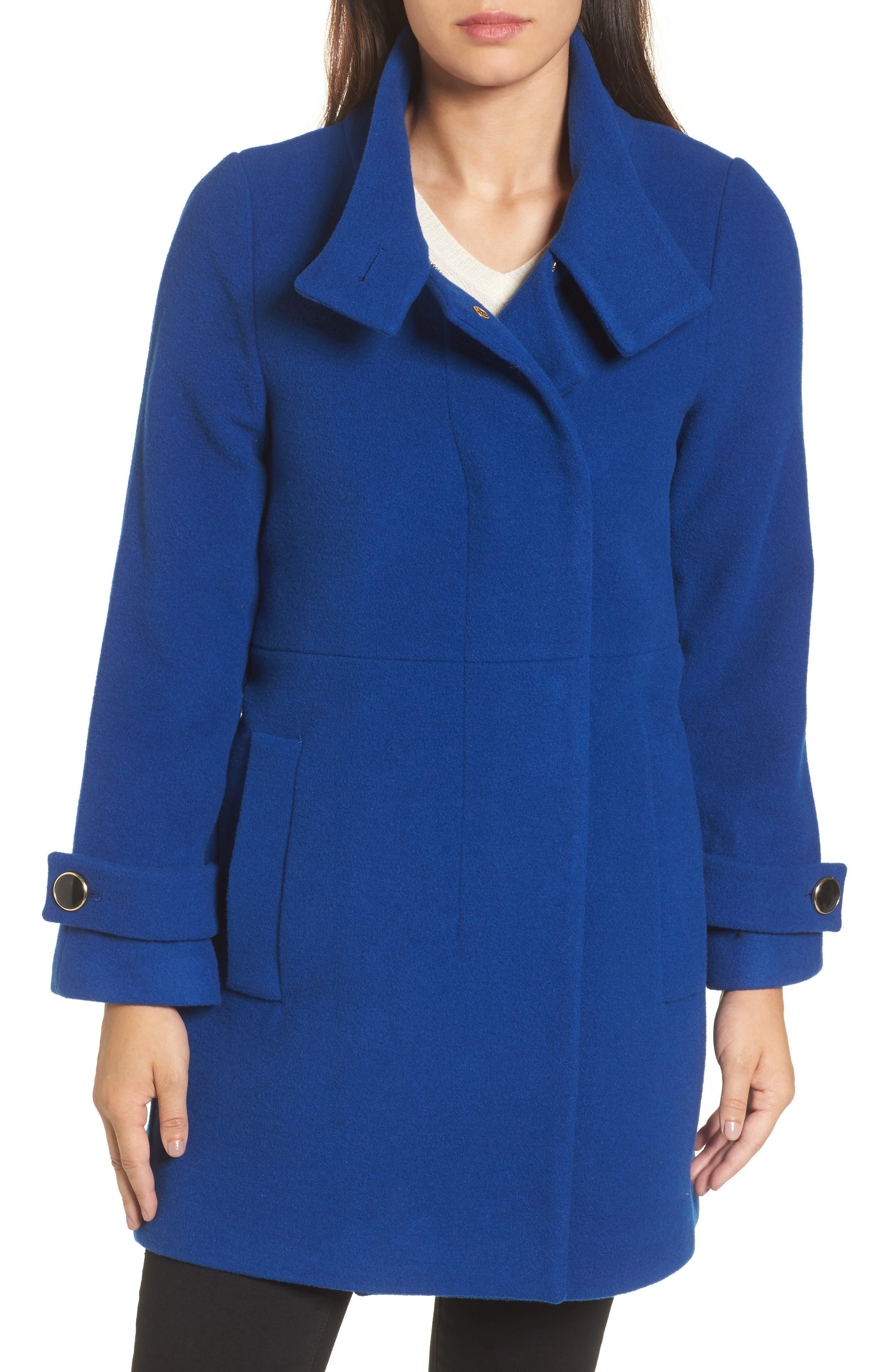 Trina Turk Wool Blend Coat