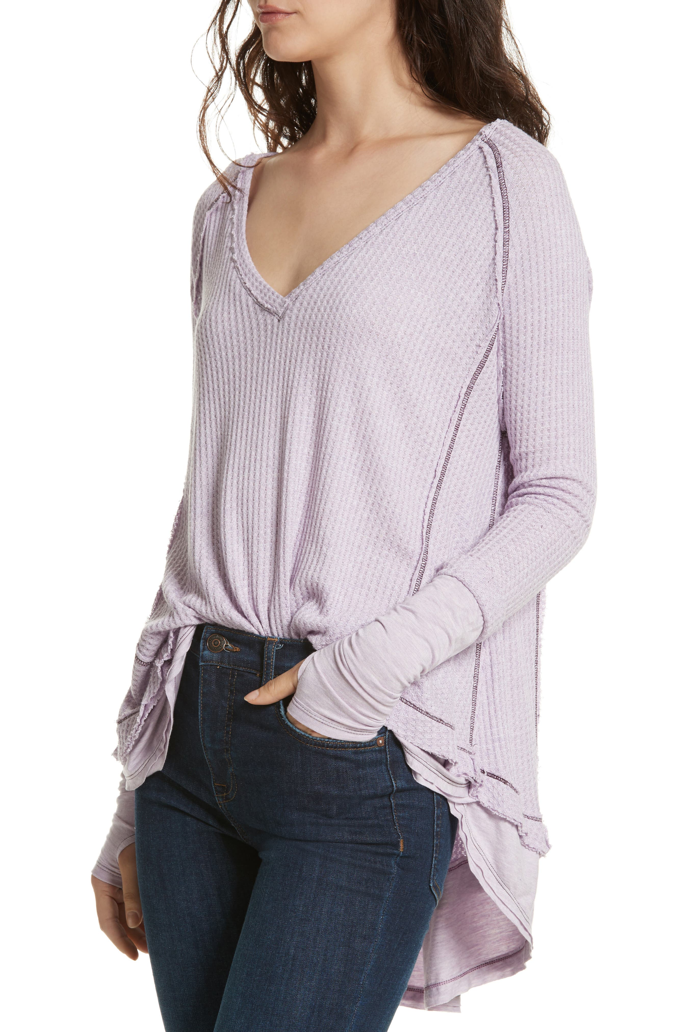 Alternate Image 4  - Free People Laguna Thermal Top
