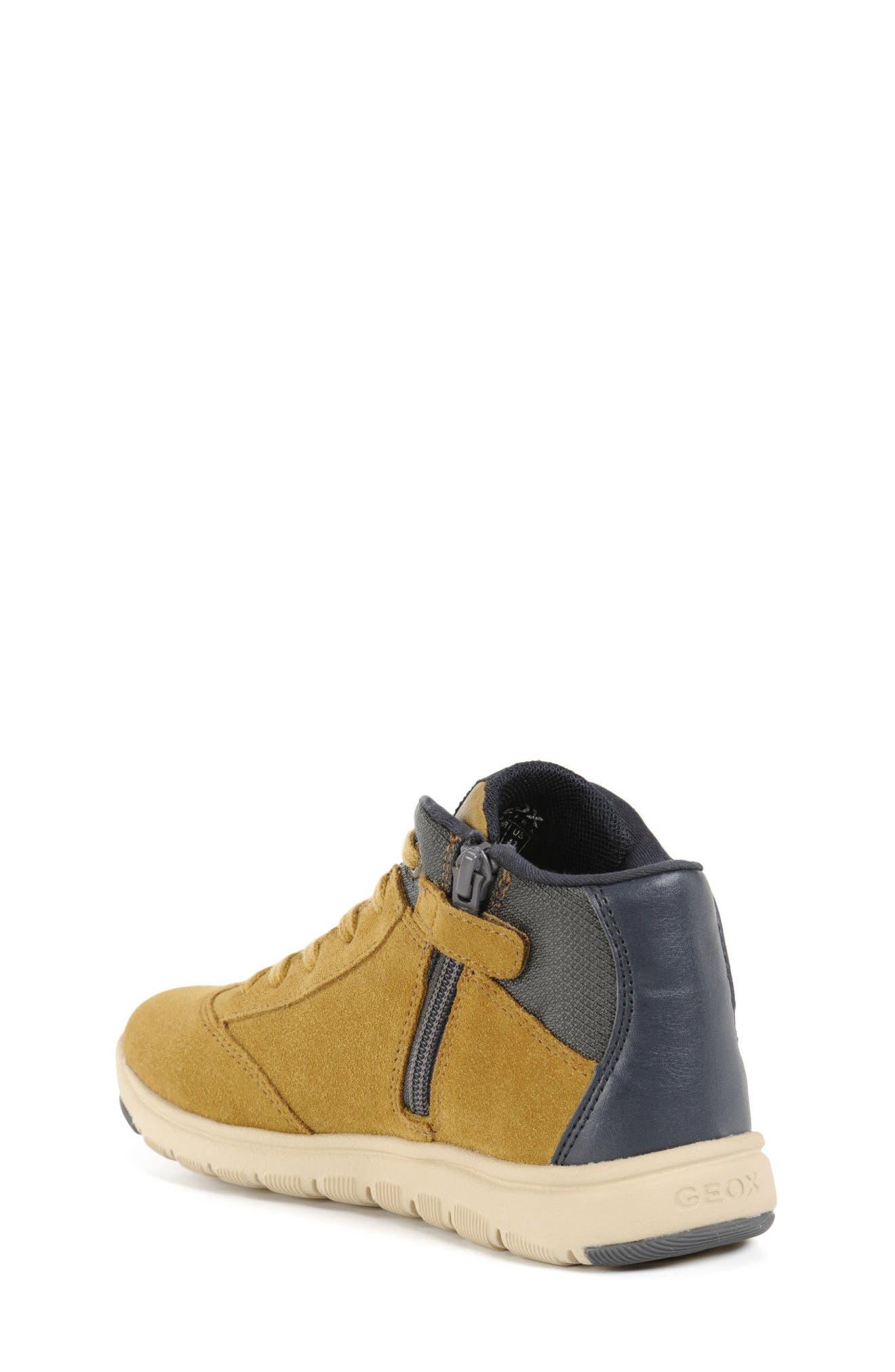 Alternate Image 2  - Geox Xunday Mid Top Sneaker (Toddler, Little Kid & Big Kid)