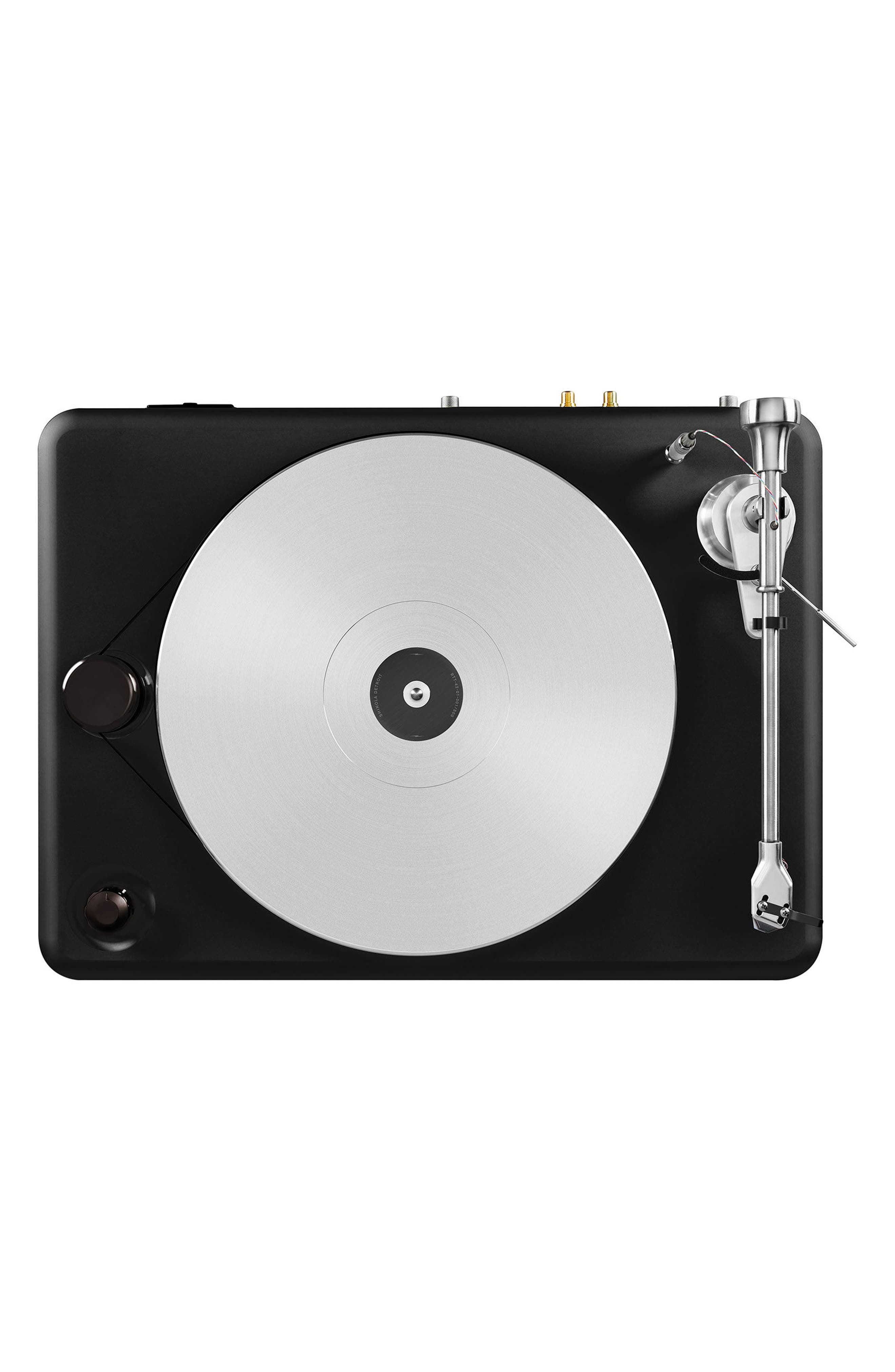 The Runwell Turntable,                             Alternate thumbnail 6, color,                             Black/ Silver