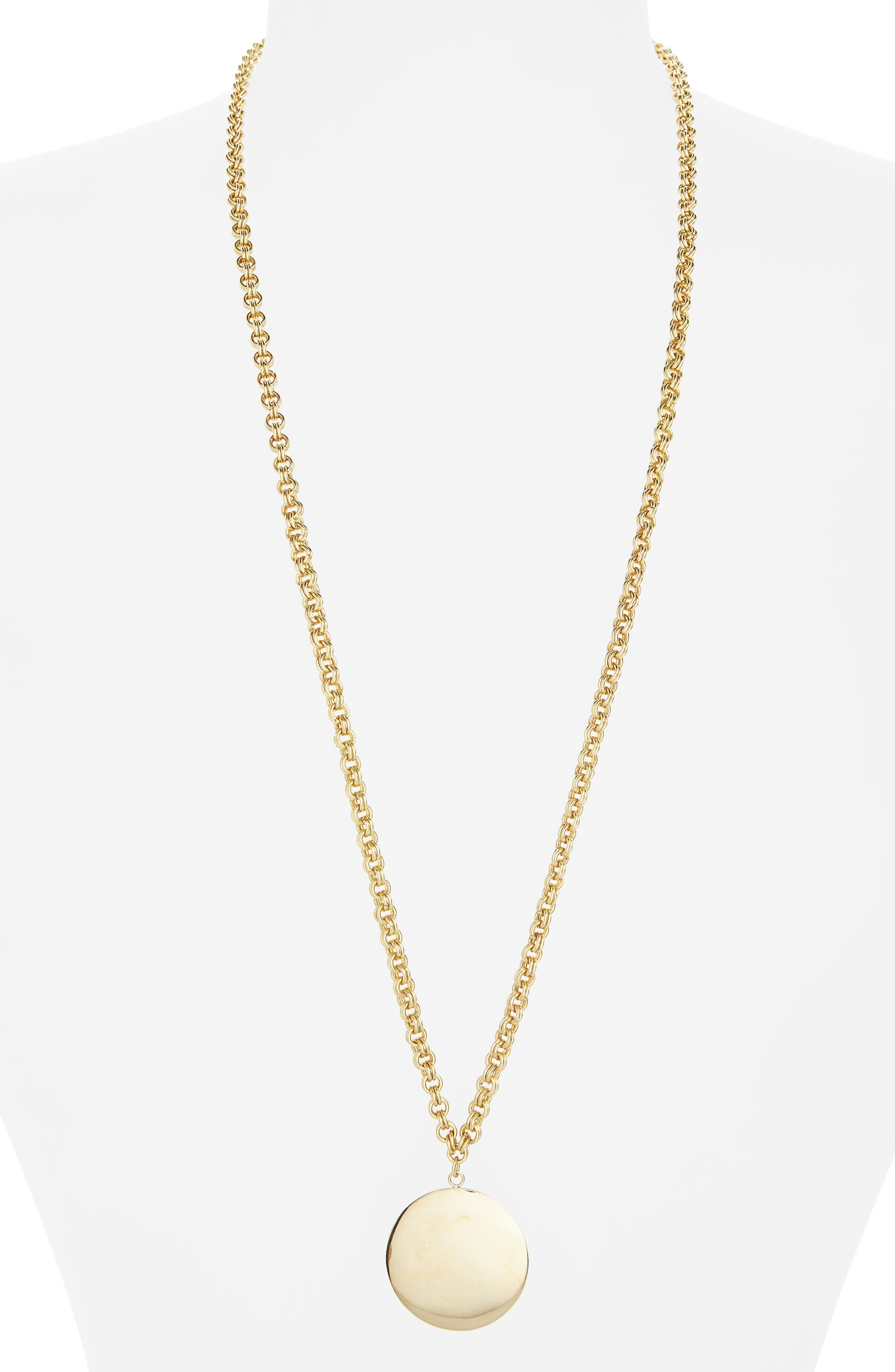 Soko Medallion Pendant Necklace