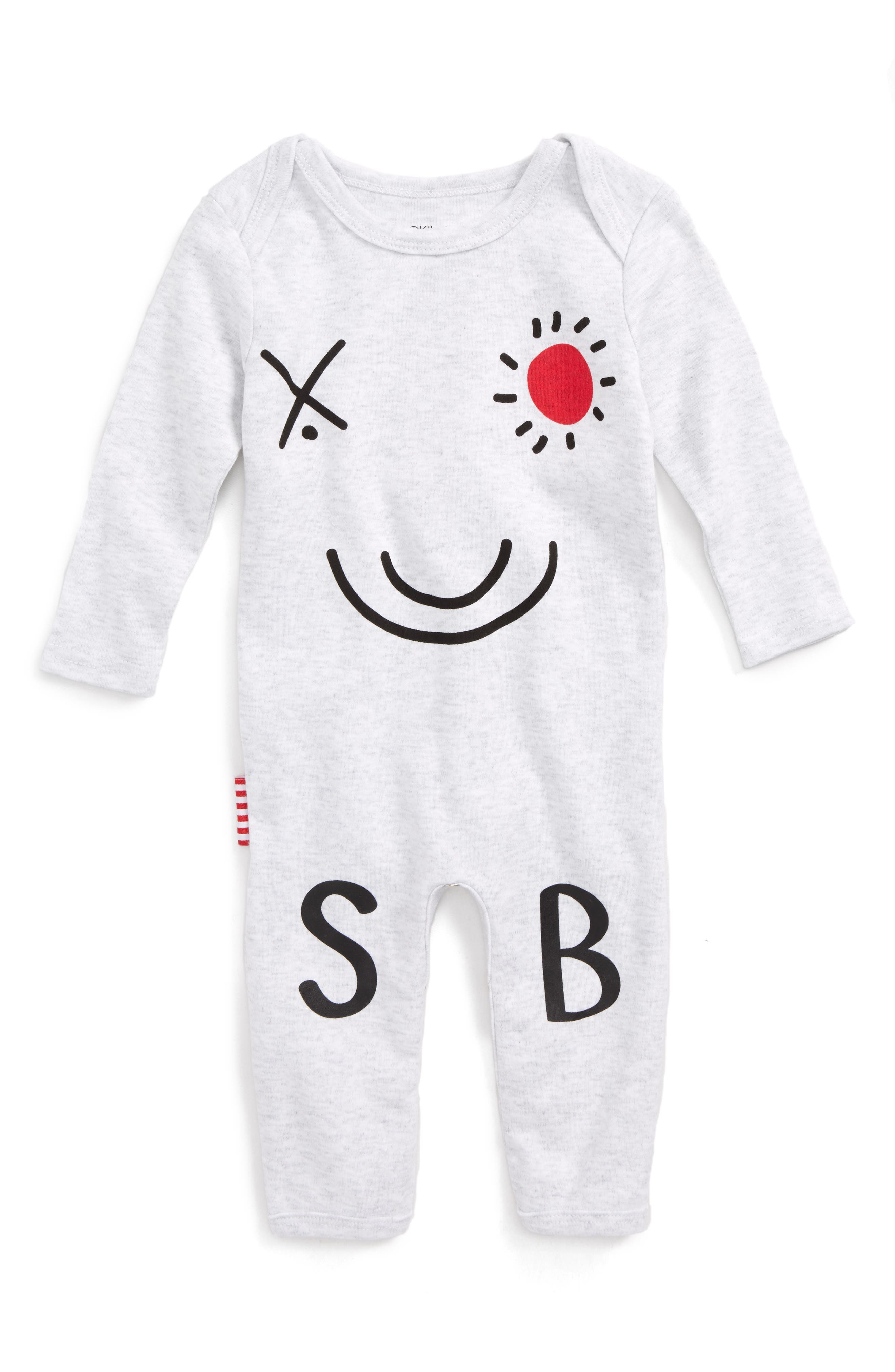 SOOKIbaby Logo Graphic Romper (Baby)