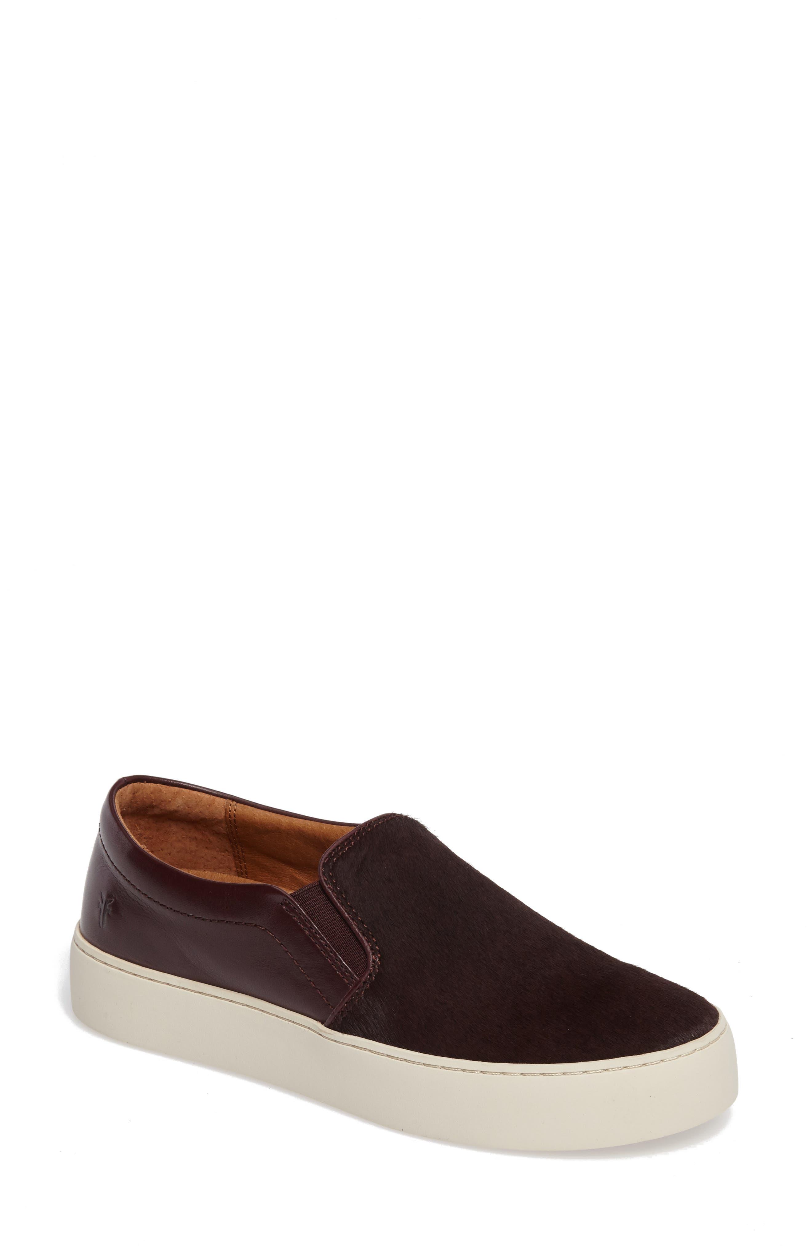 Frye Lena Genuine Calf Hair Slip-On Sneaker (Women)