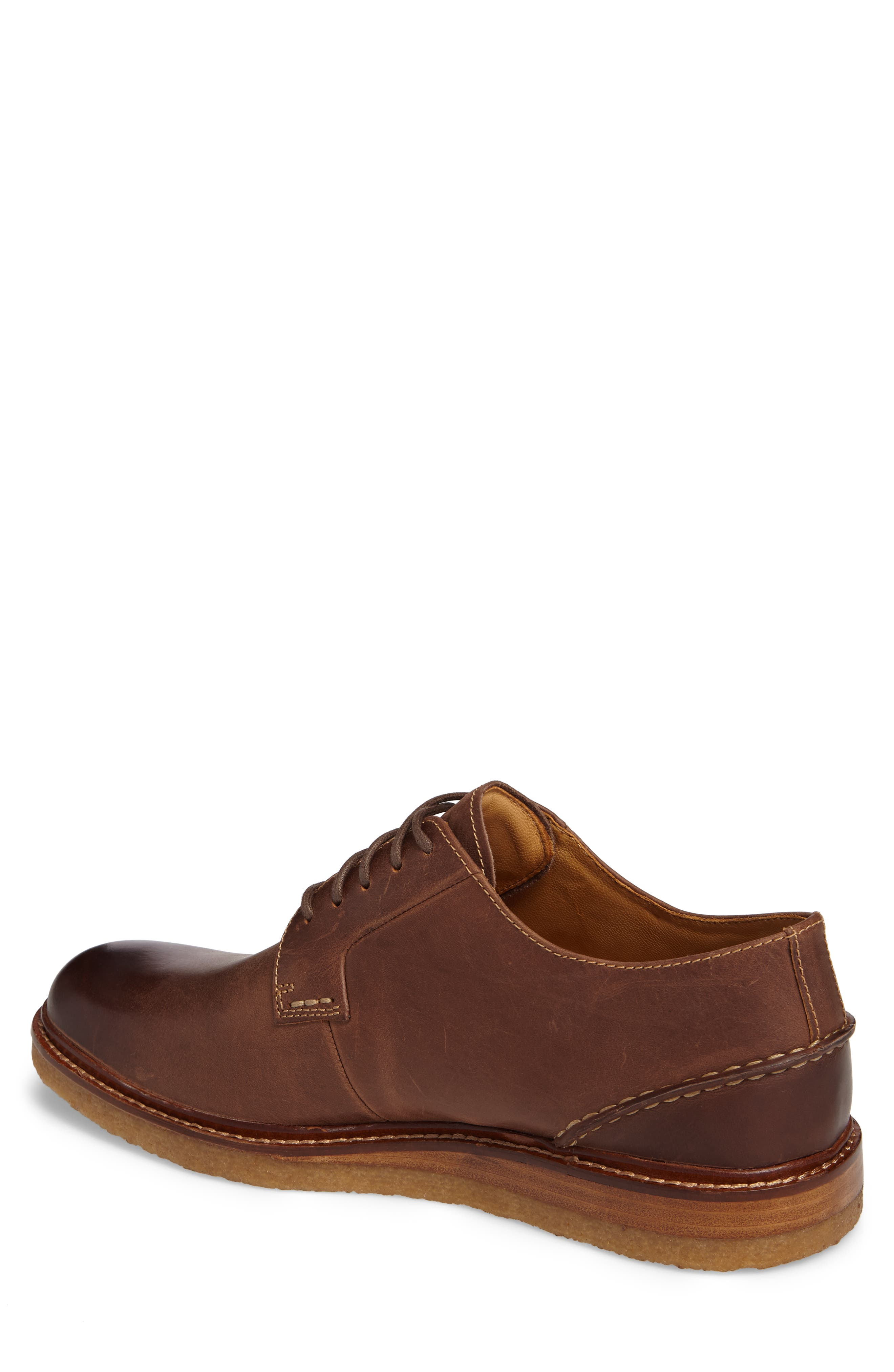 Gold Cup Plain Toe Derby,                             Alternate thumbnail 2, color,                             Brown Leather