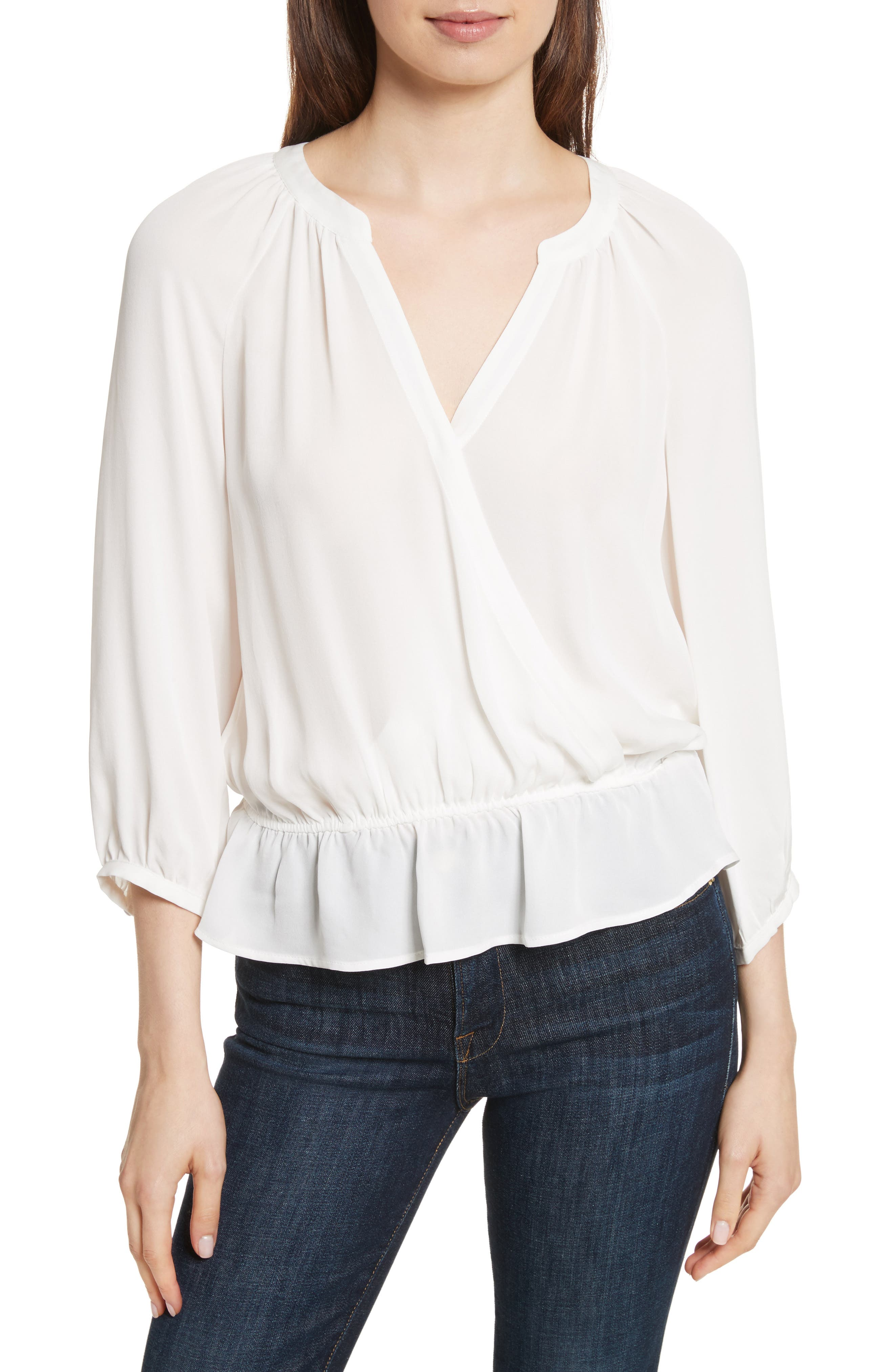 Main Image - Joie Louvre Silk Top