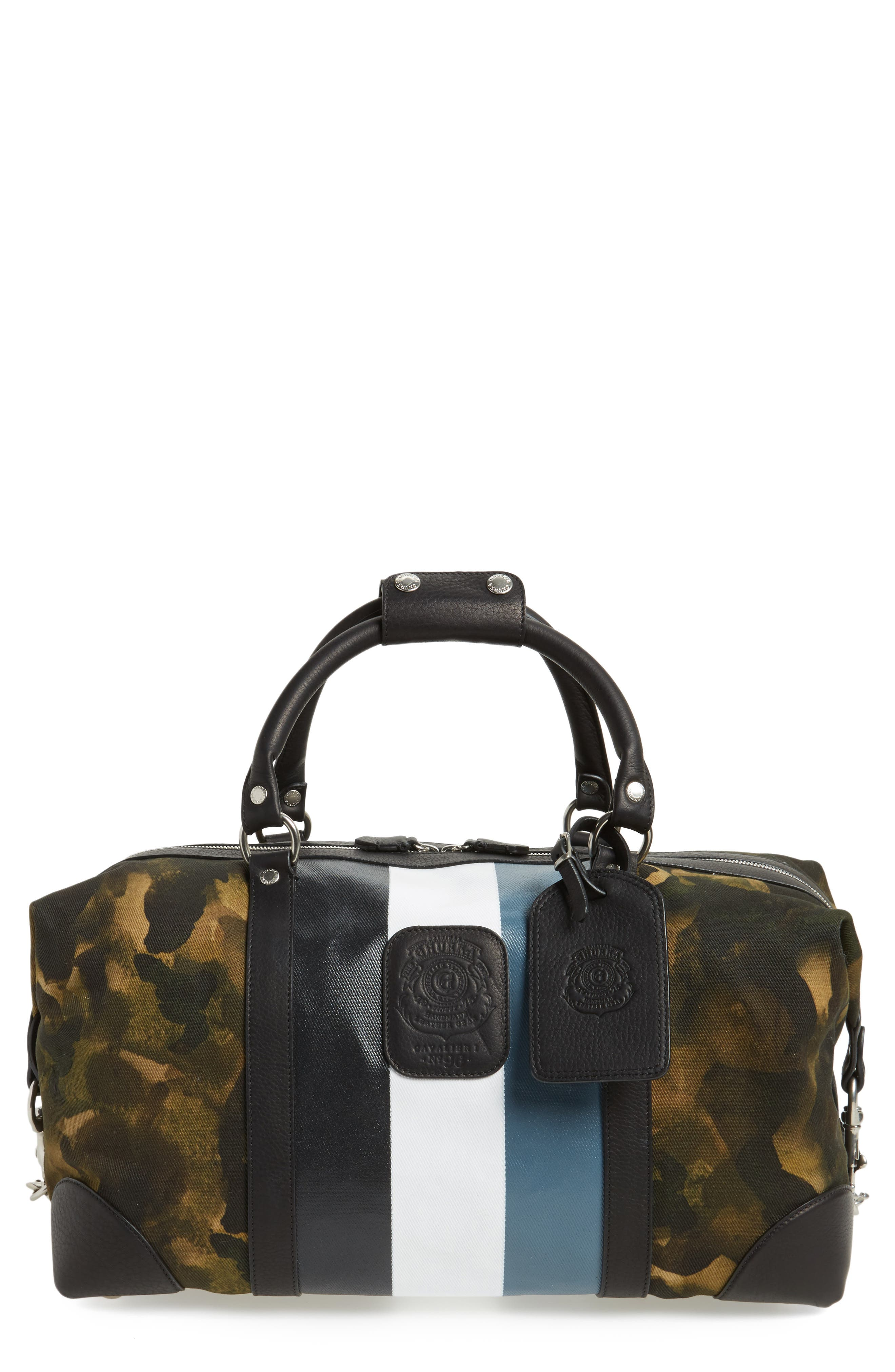 Alternate Image 1 Selected - Ghurka Cavalier I Camo Stripe Twill Duffel