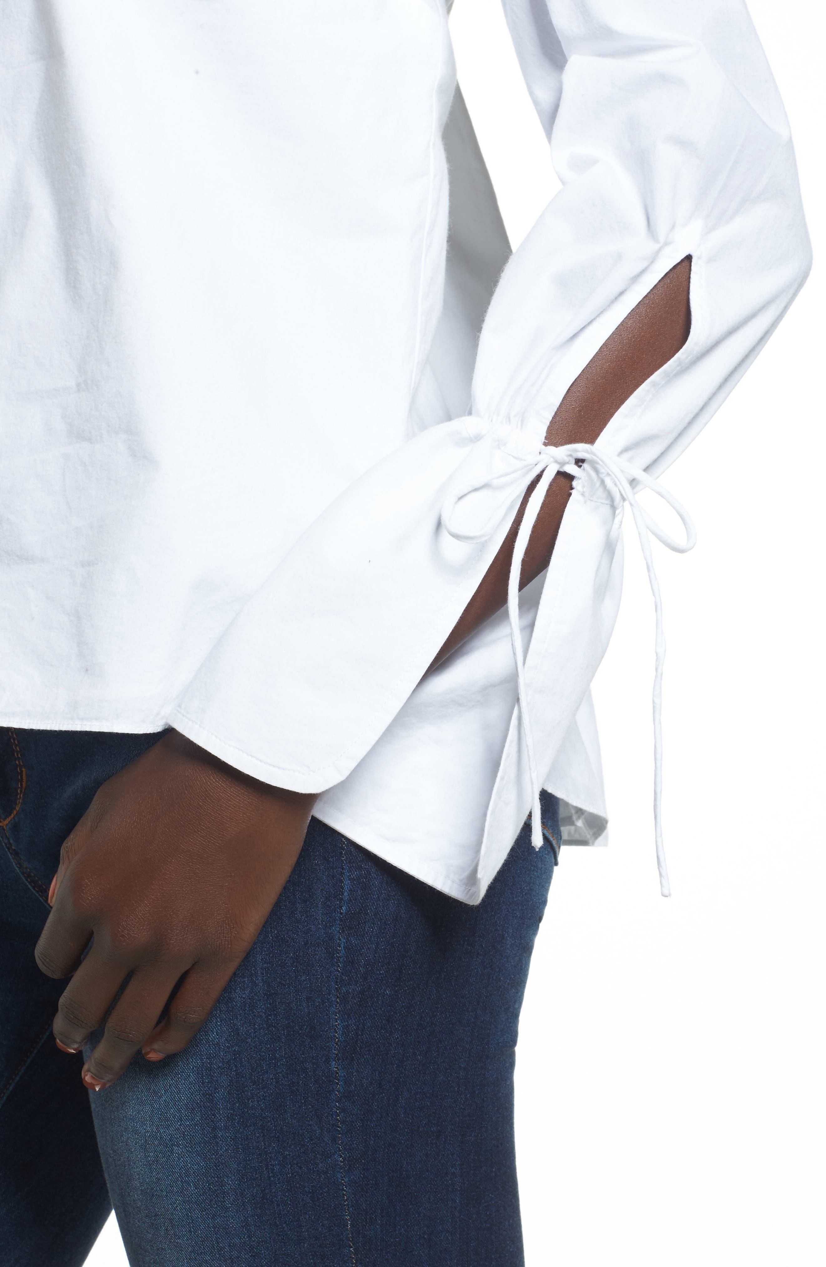 Alternate Image 4  - L'Academie Aria Off the Shoulder Blouse