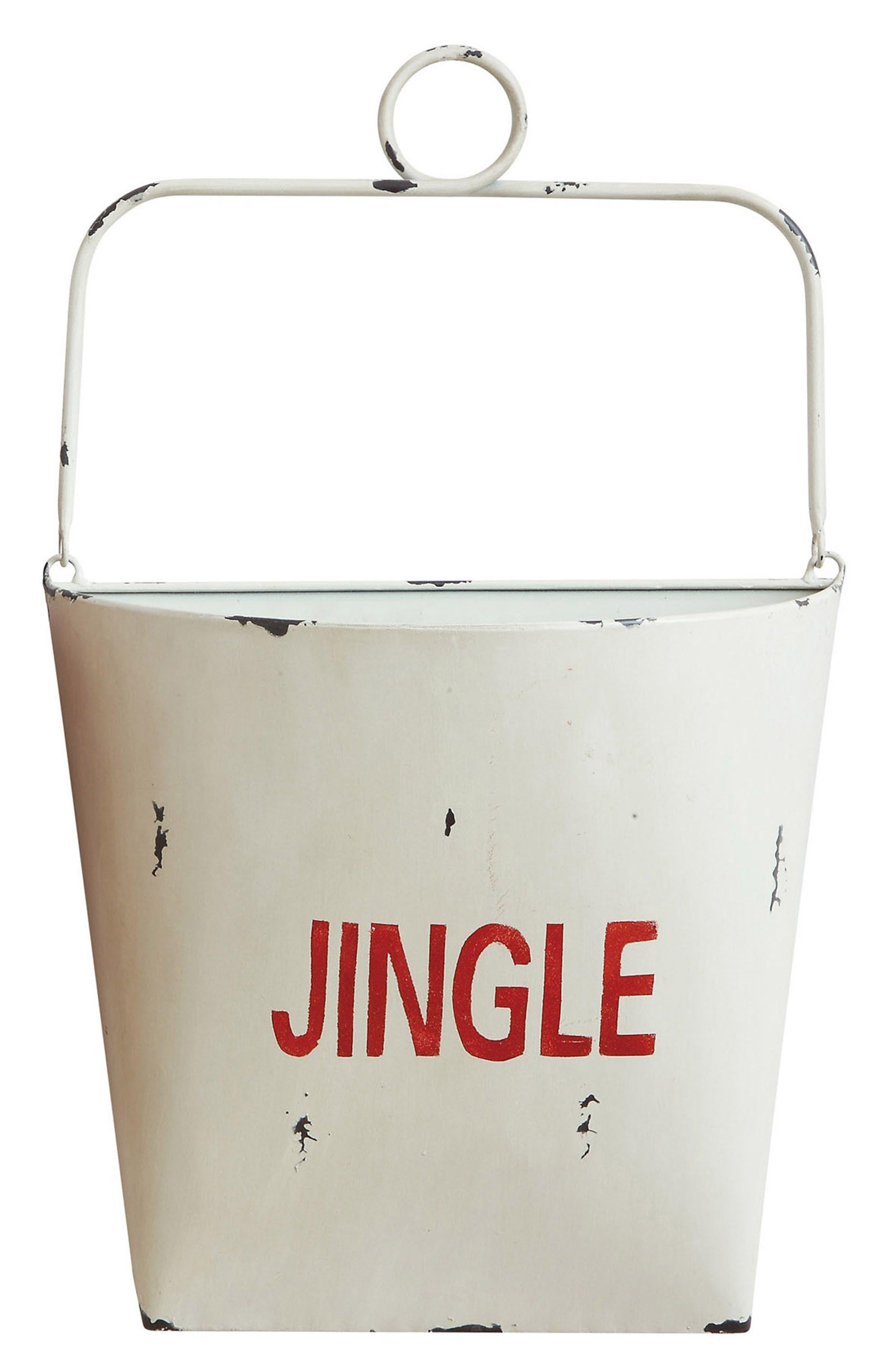 Jingle Bucket,                             Main thumbnail 1, color,                             White