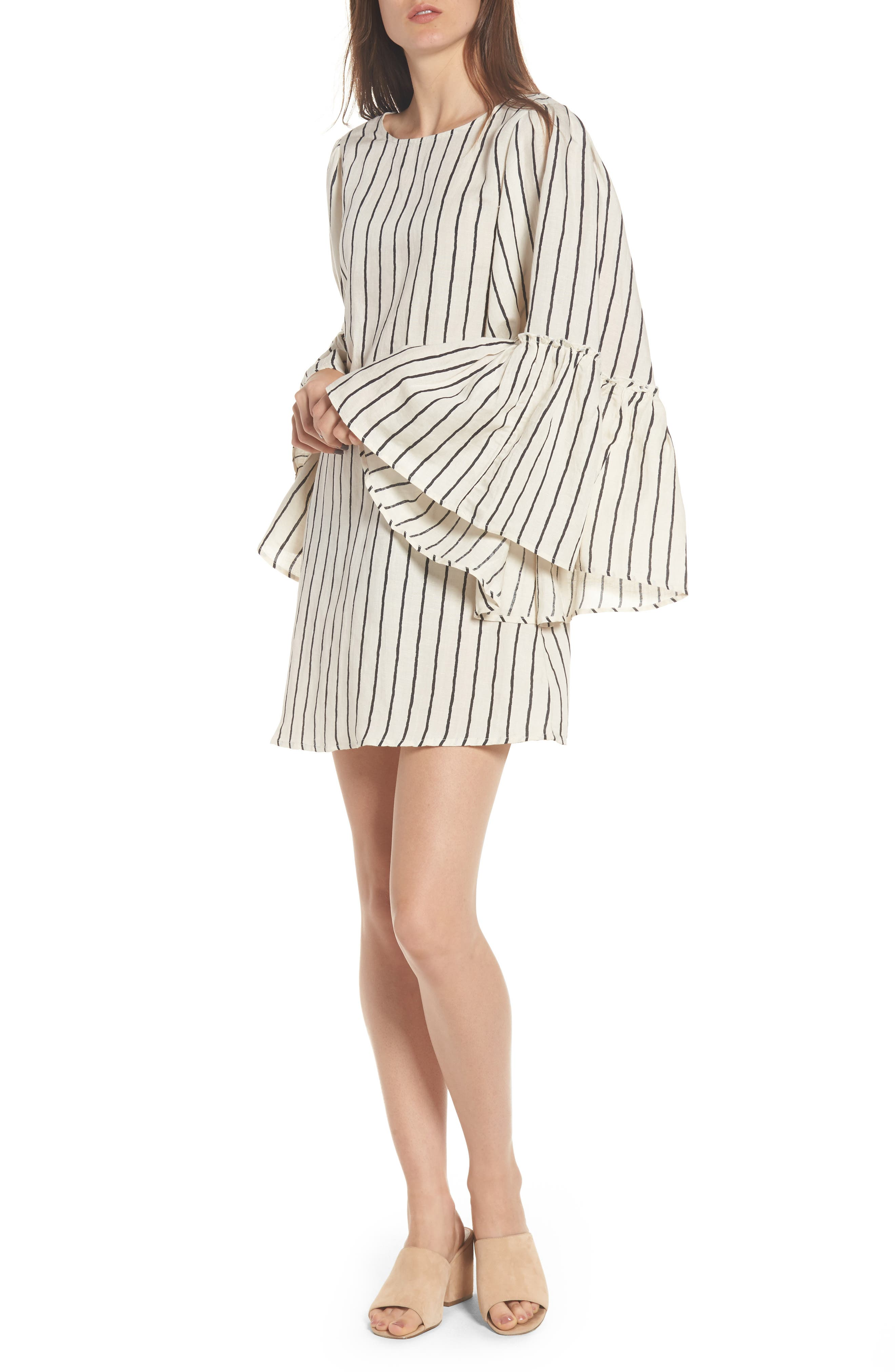 Main Image - Love Like Summer x Billabong Woven Minidress
