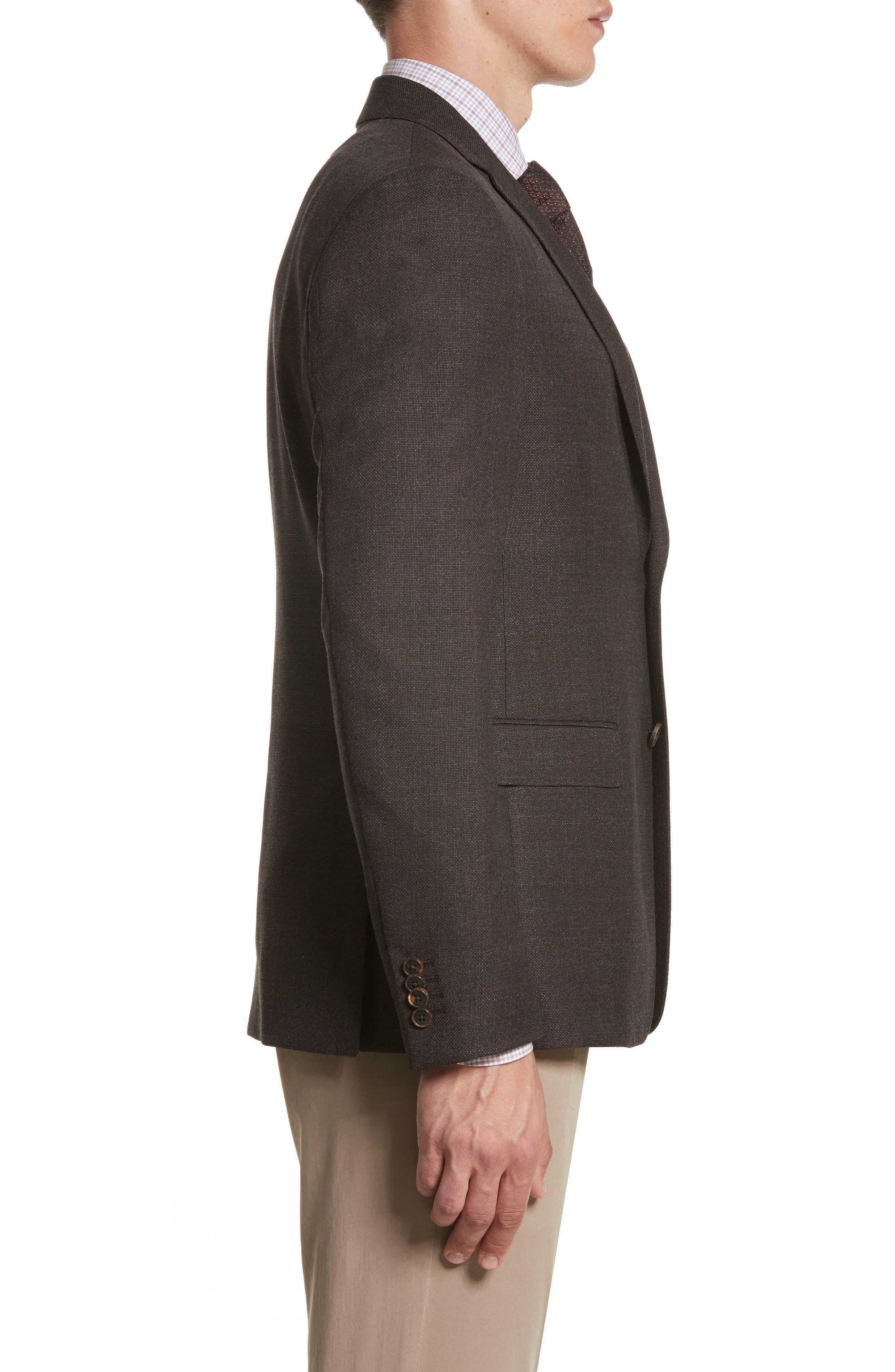 Alternate Image 3  - Z Zegna Classic Fit Wool Blazer