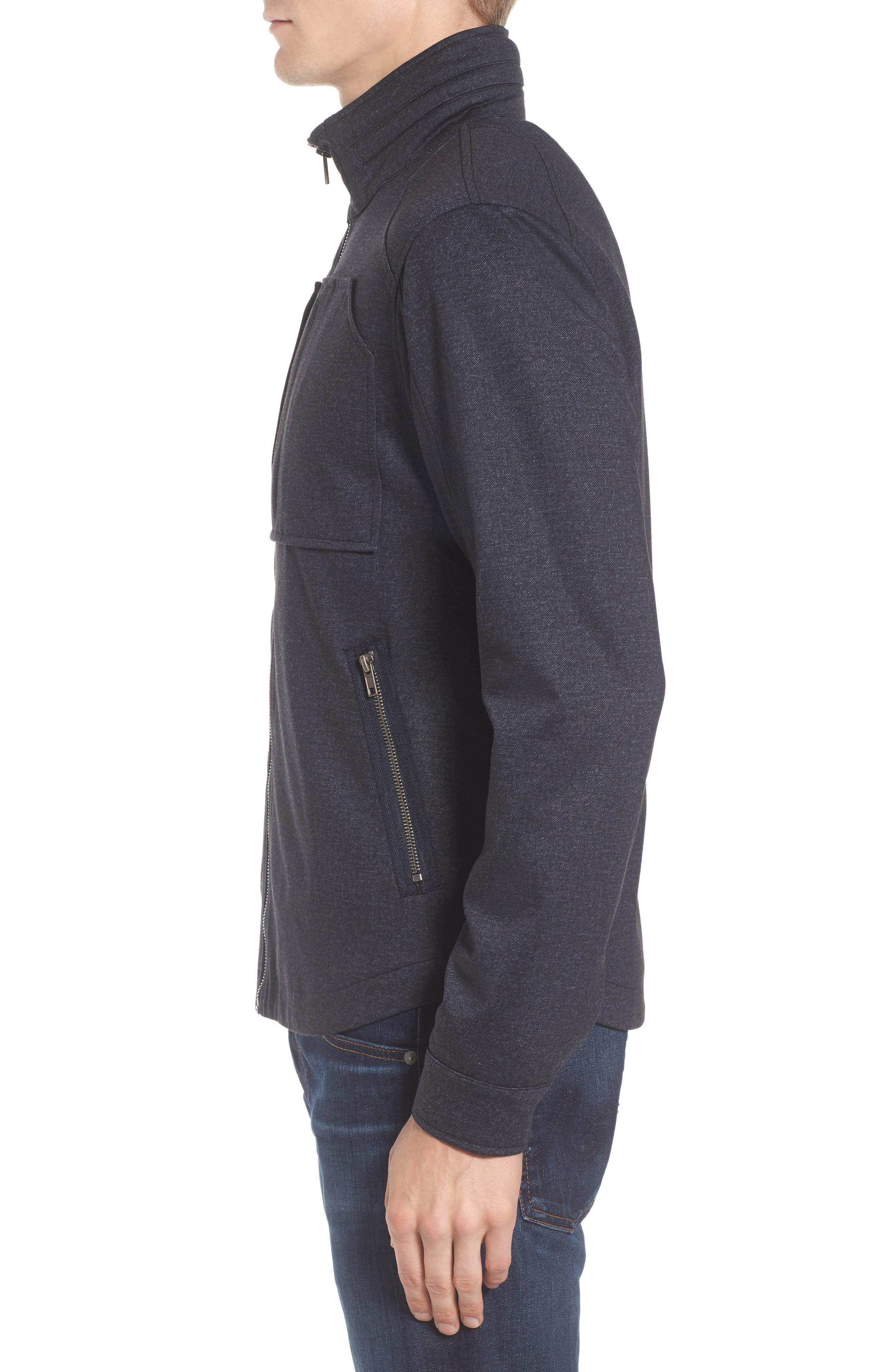 Zip Jacket,                             Alternate thumbnail 3, color,                             Navy