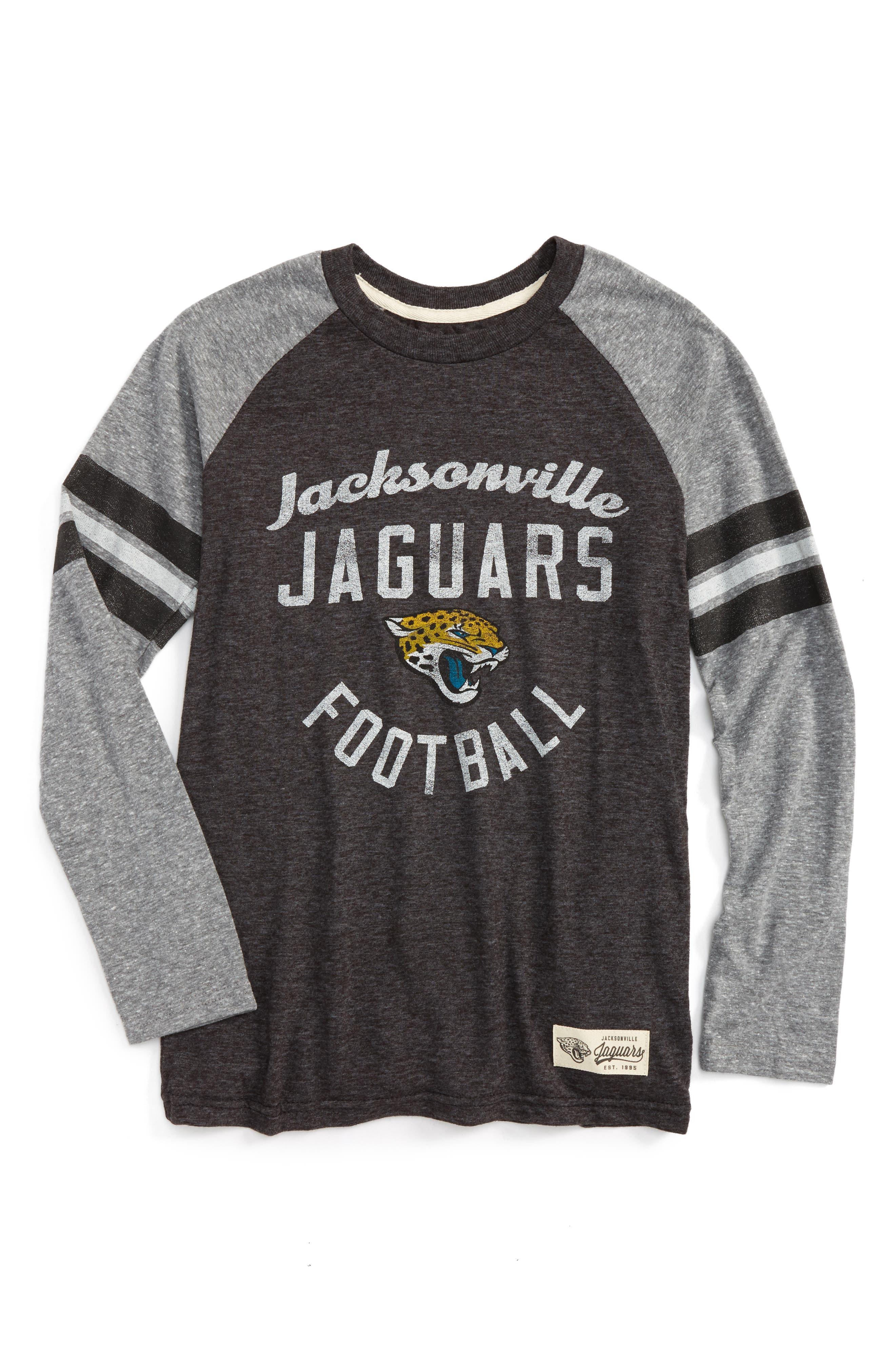 Outerstuff NFL Jacksonville Jaguars Distressed Logo T-Shirt (Big Boys)