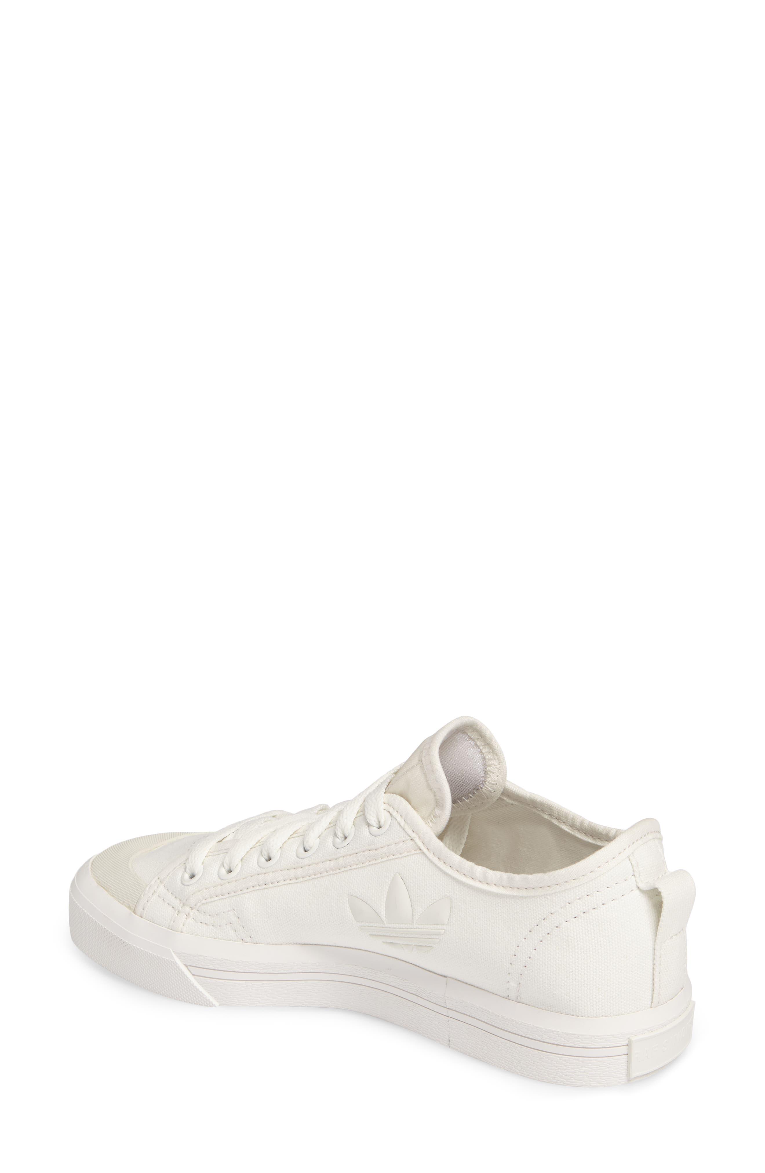 adidas by Raf Simons Spirit Low Top Sneaker,                             Alternate thumbnail 2, color,                             Optic White