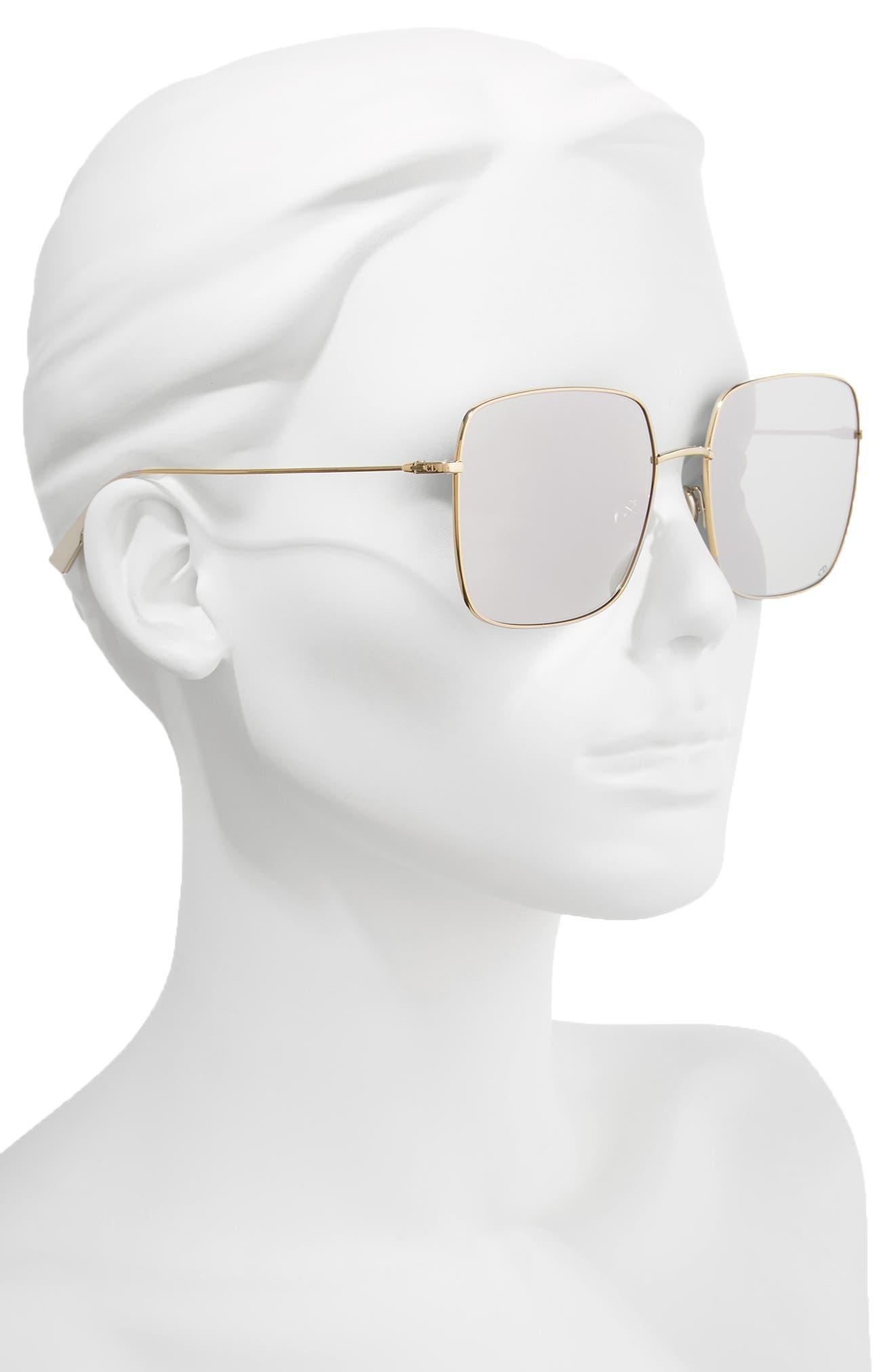 Alternate Image 2  - Dior Stellaire 1 59mm Square Sunglasses