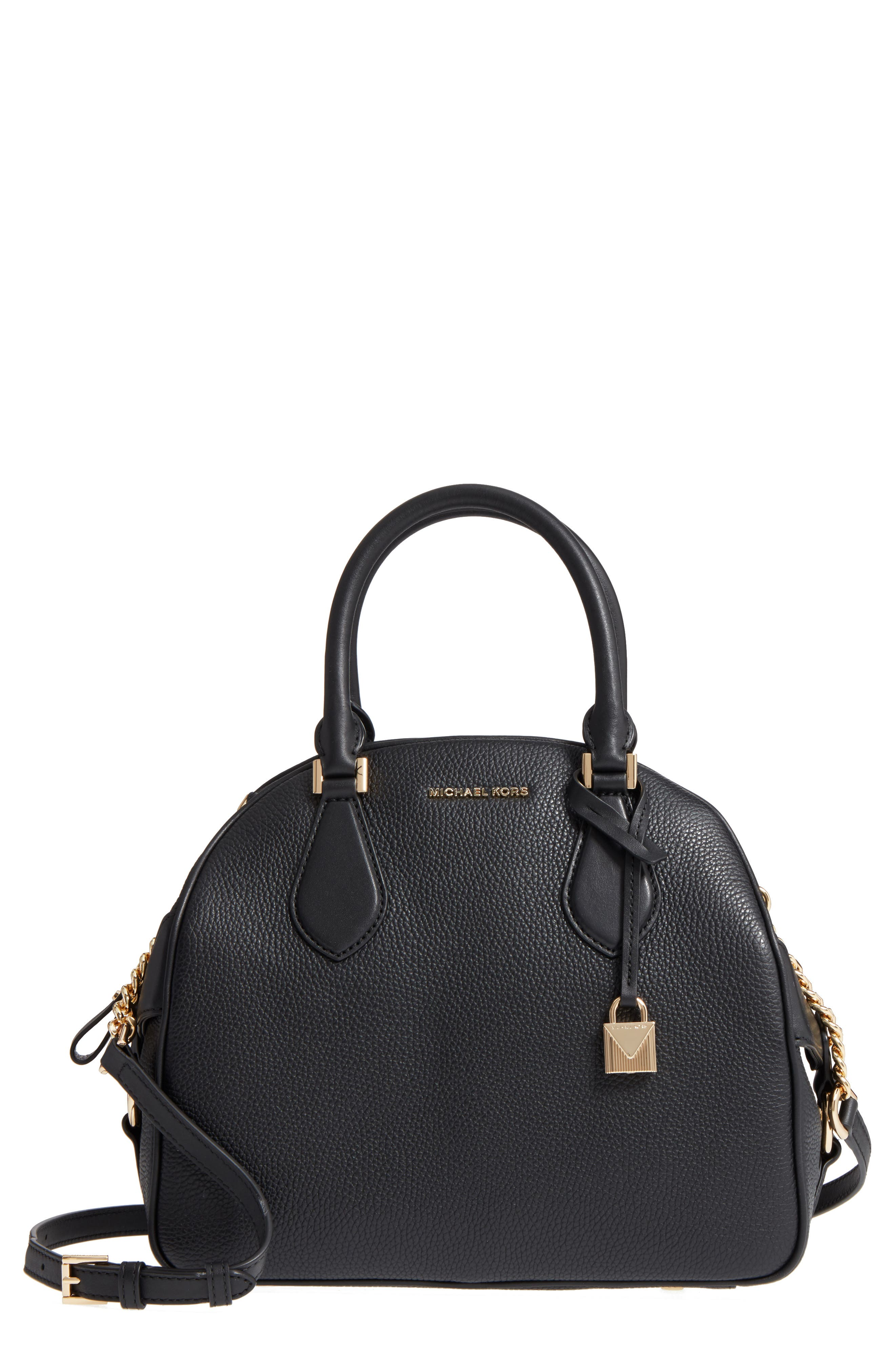 MICHAEL Michael Kors Large Briar Leather Satchel