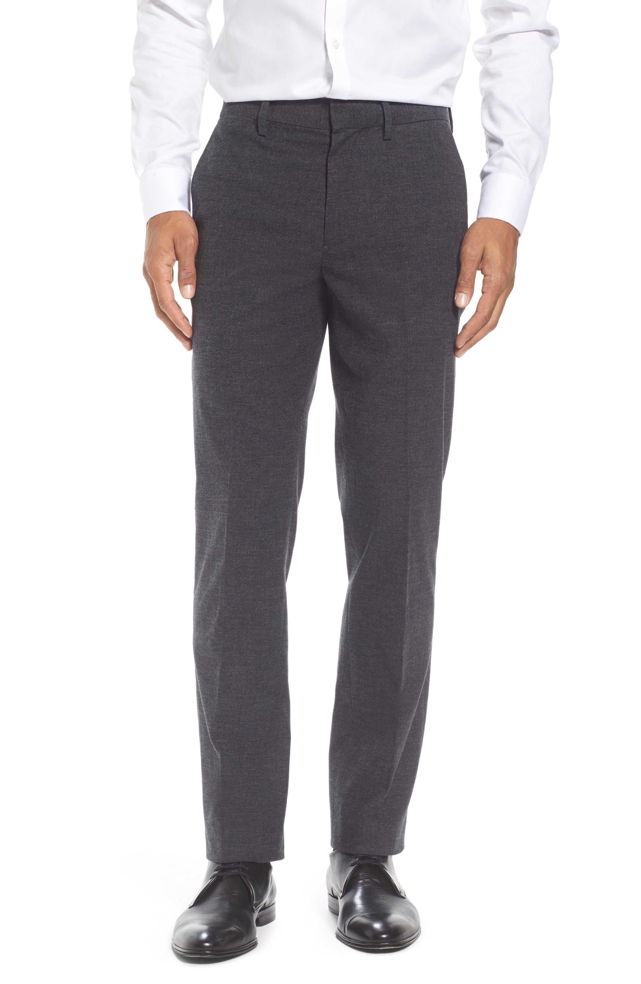 Alternate Image 1 Selected - Bonobos Foundation Slim Fit Trousers