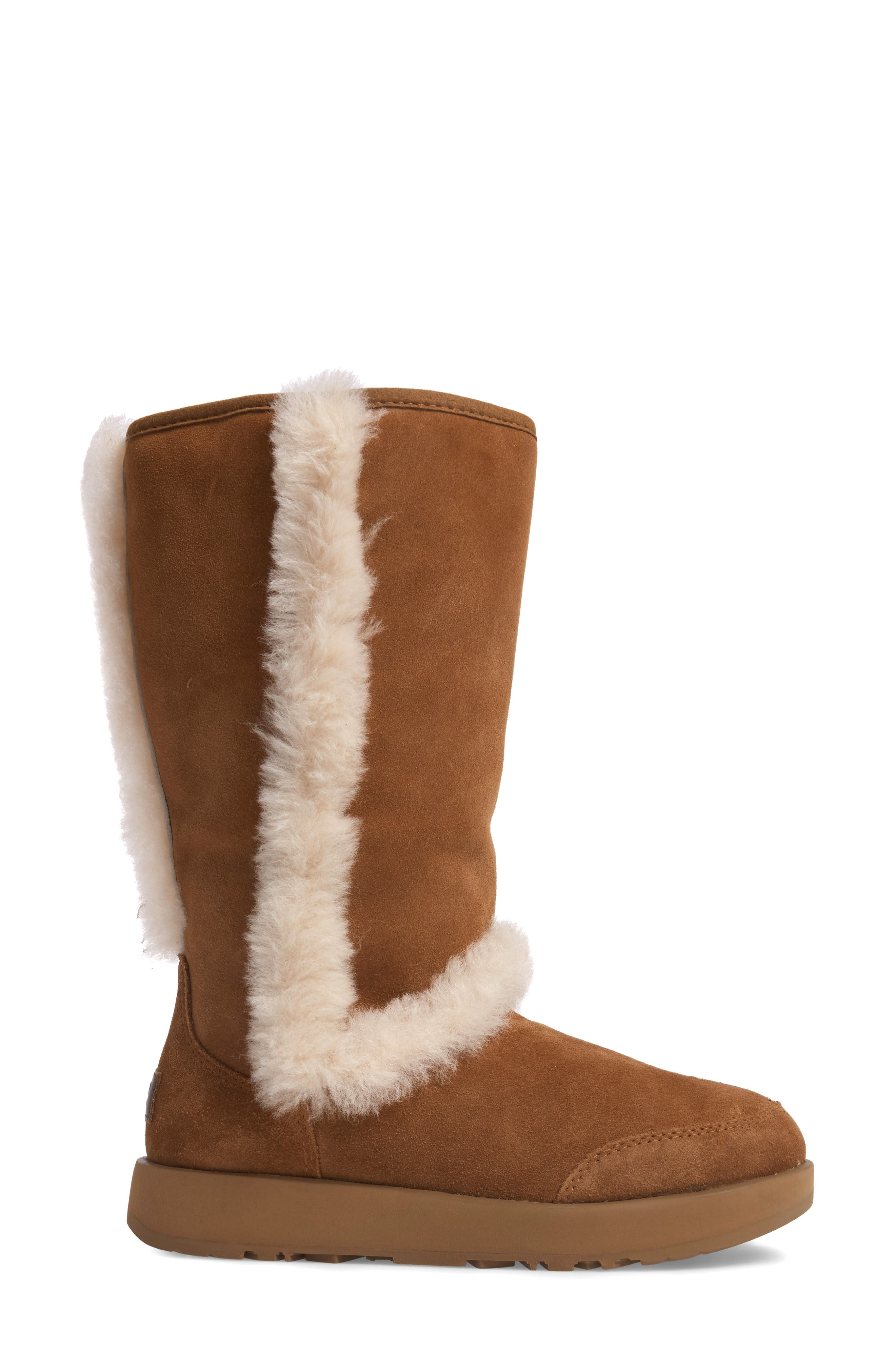 Alternate Image 3  - UGG® Sundance Genuine Shearling Waterproof Boot (Women)