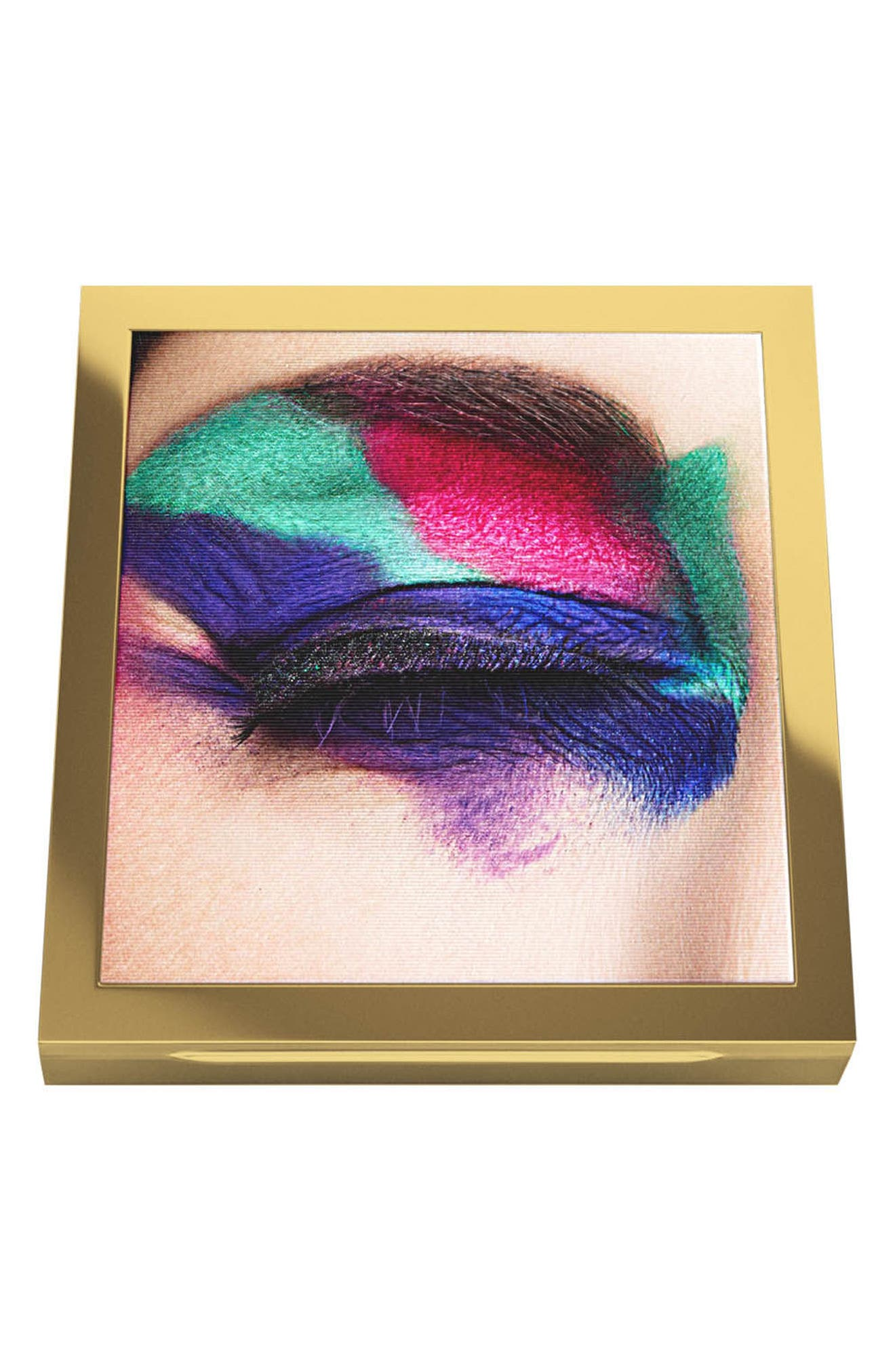 MAC Rossy de Palma Veluxe Pearlfusion Eyeshadow Palette,                             Alternate thumbnail 3, color,                             Colours On The Verge