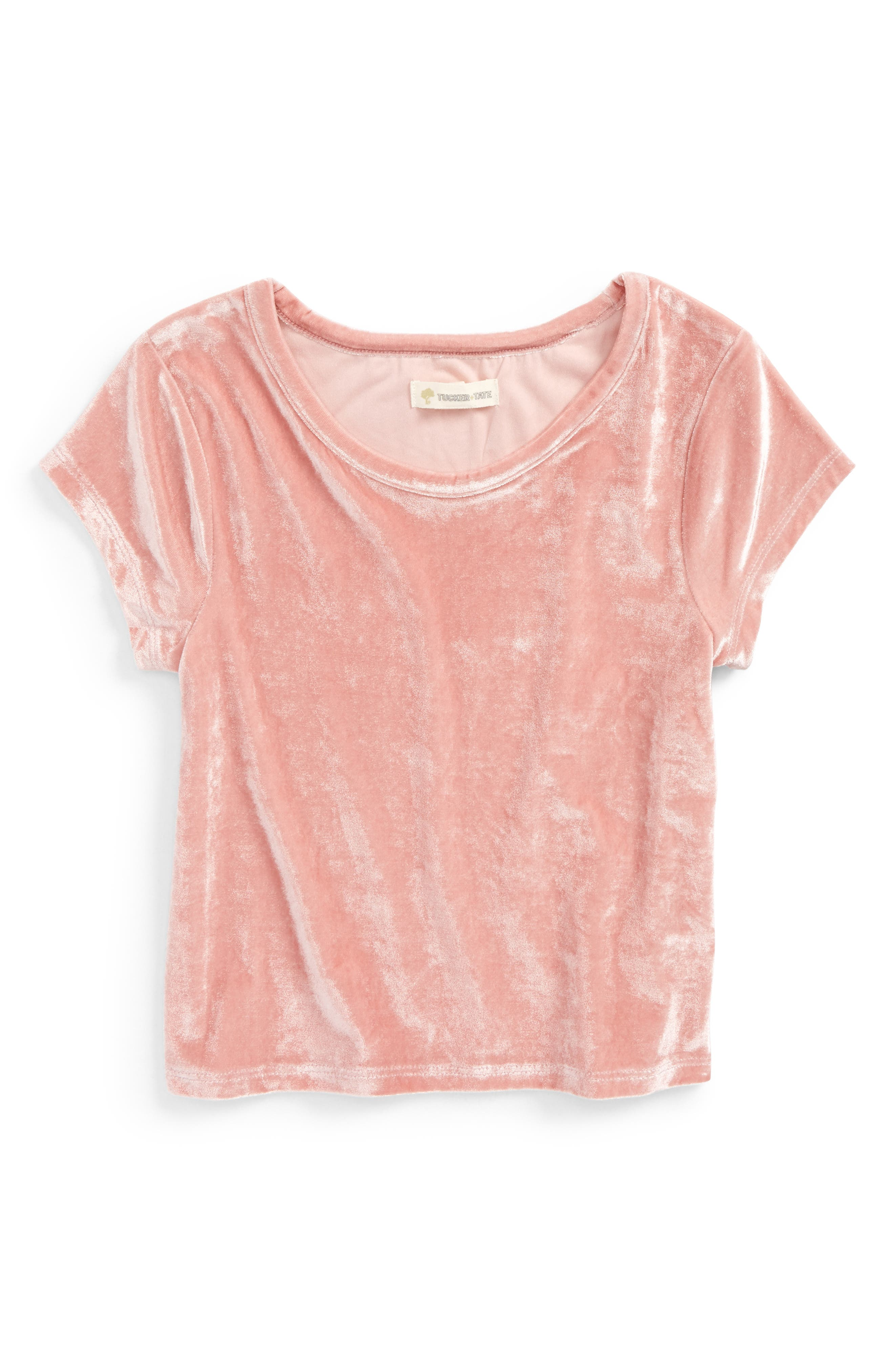 Tucker + Tate Velvet Tee (Big Girls)