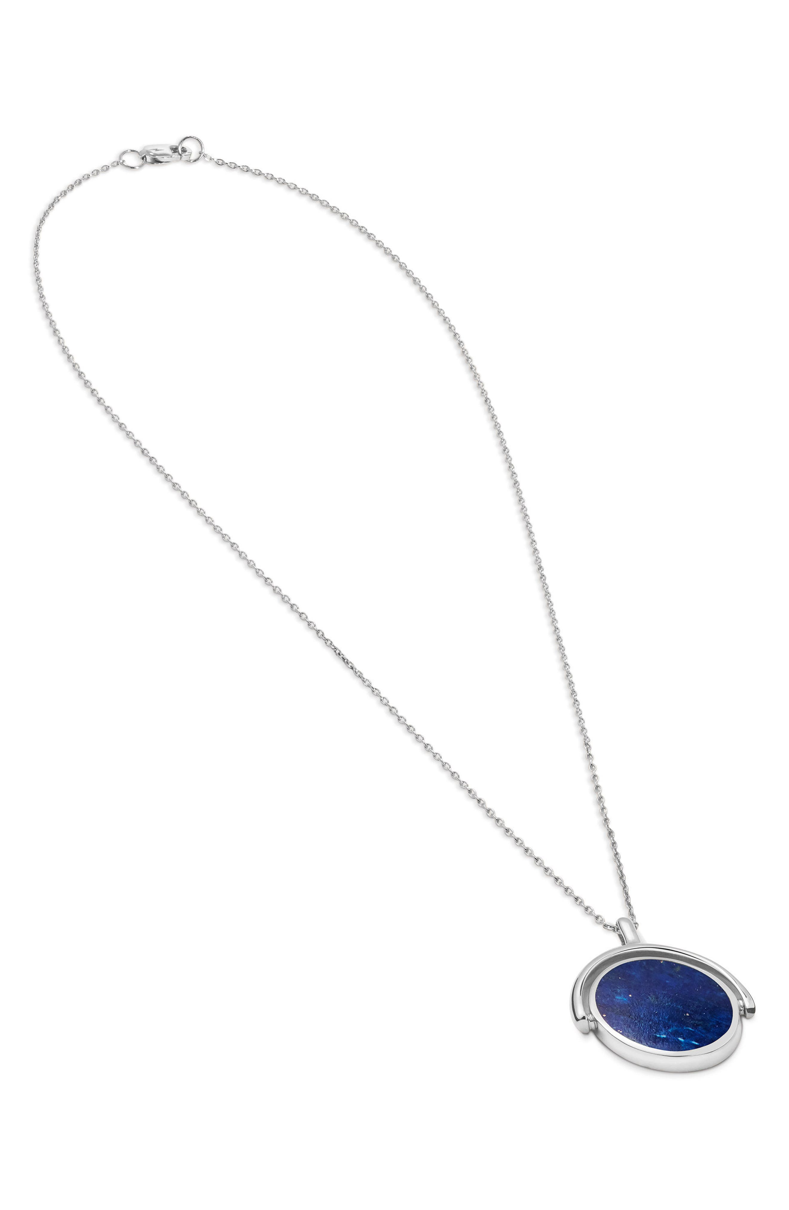 Alternate Image 2  - Shinola Rotating Signet Pendant Necklace