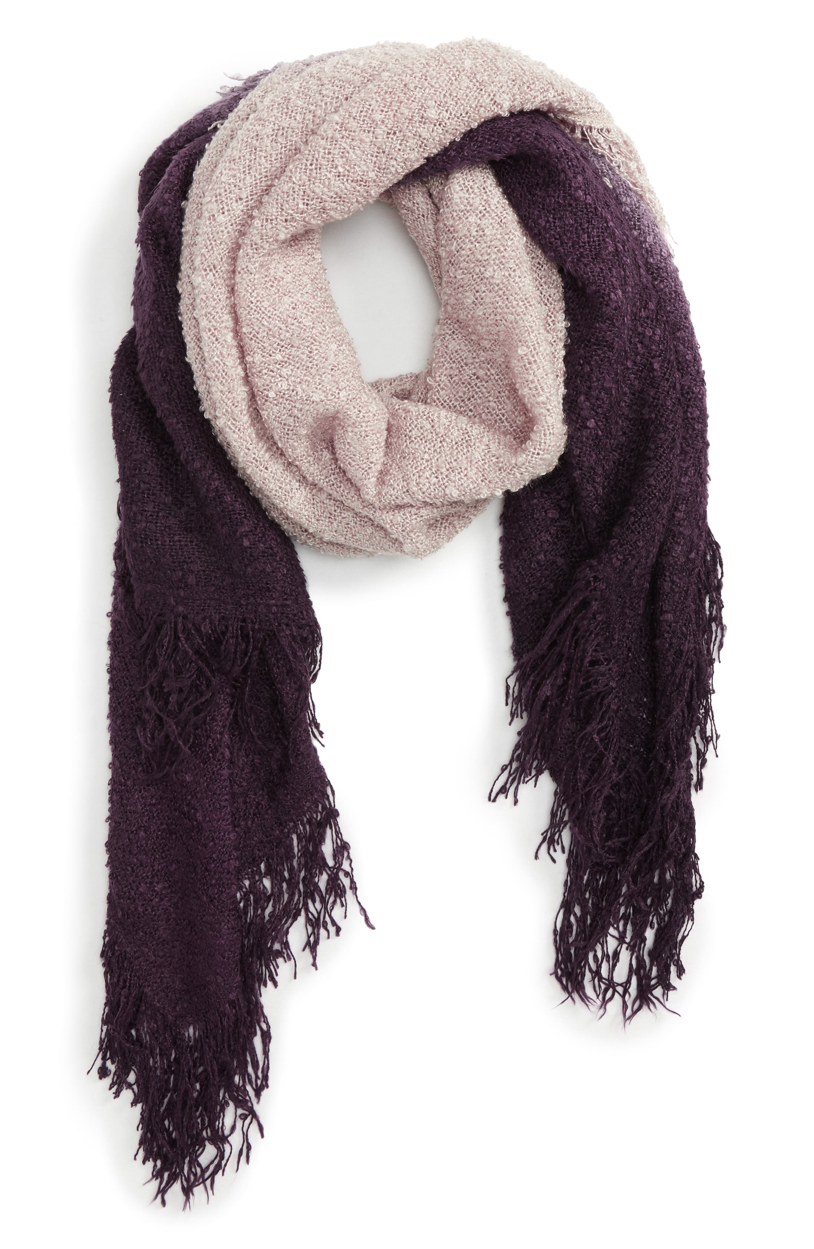 Accessory Collective Dip Dye Scarf