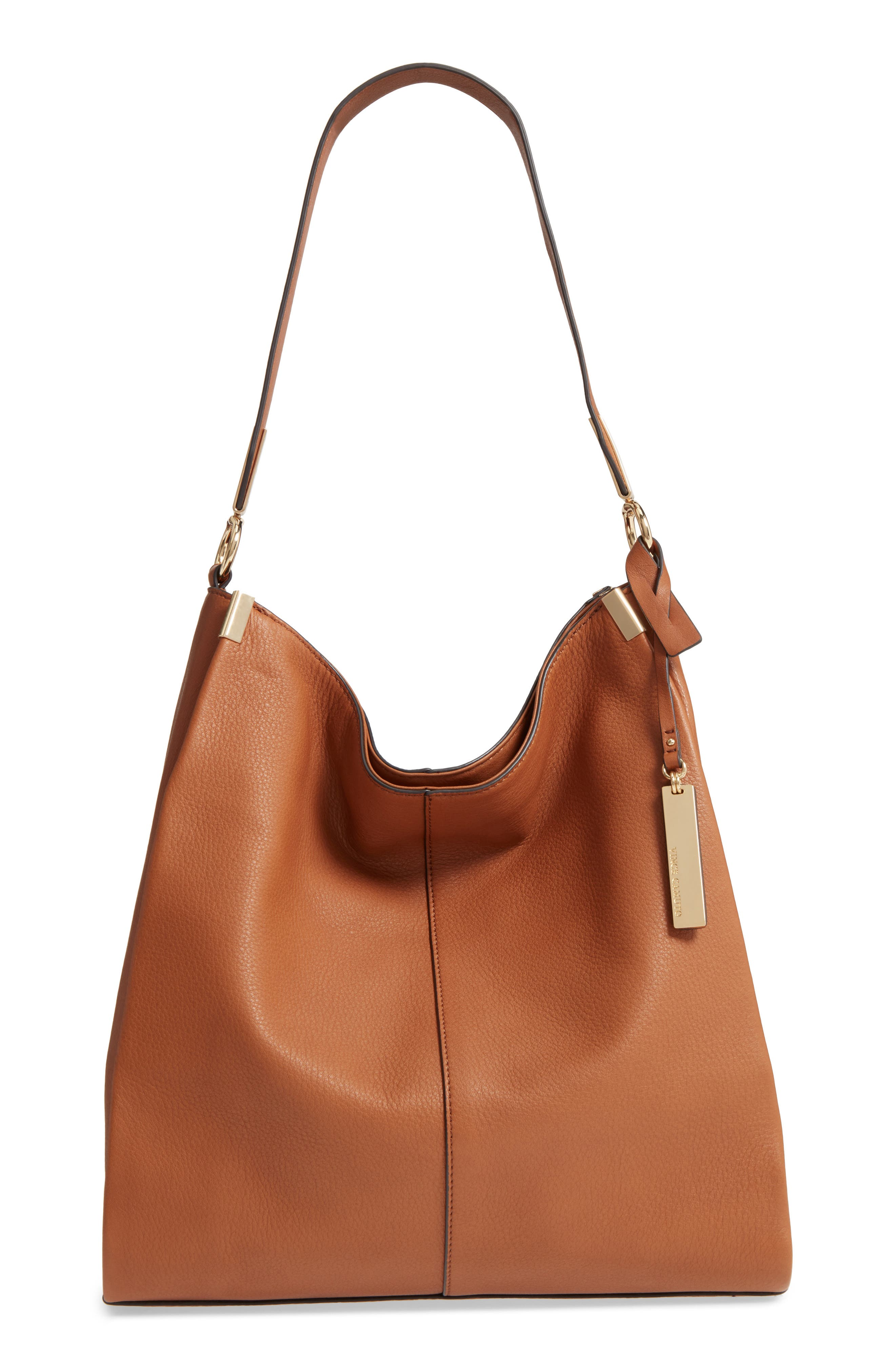 Alternate Image 1 Selected - Vince Camuto Rosen Leather Hobo