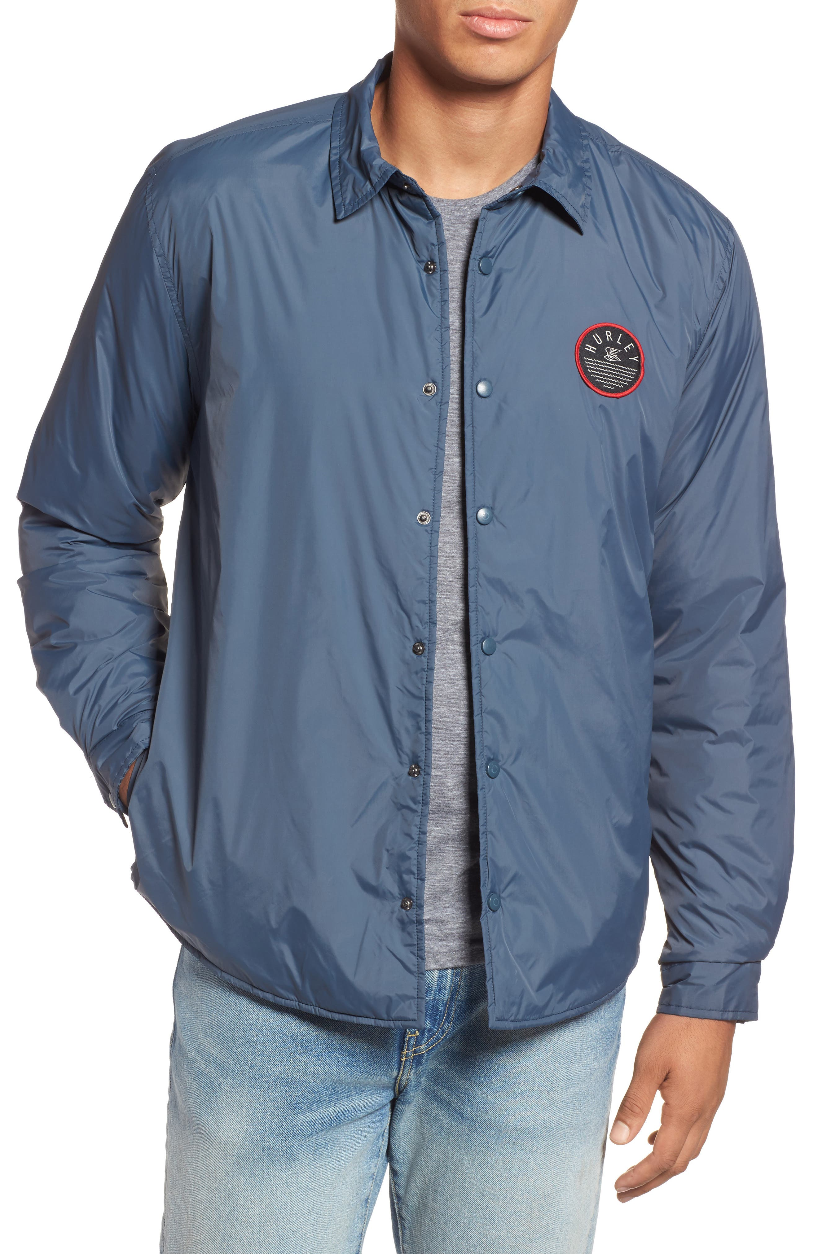 Portland Jacket,                         Main,                         color, Squadron Blue